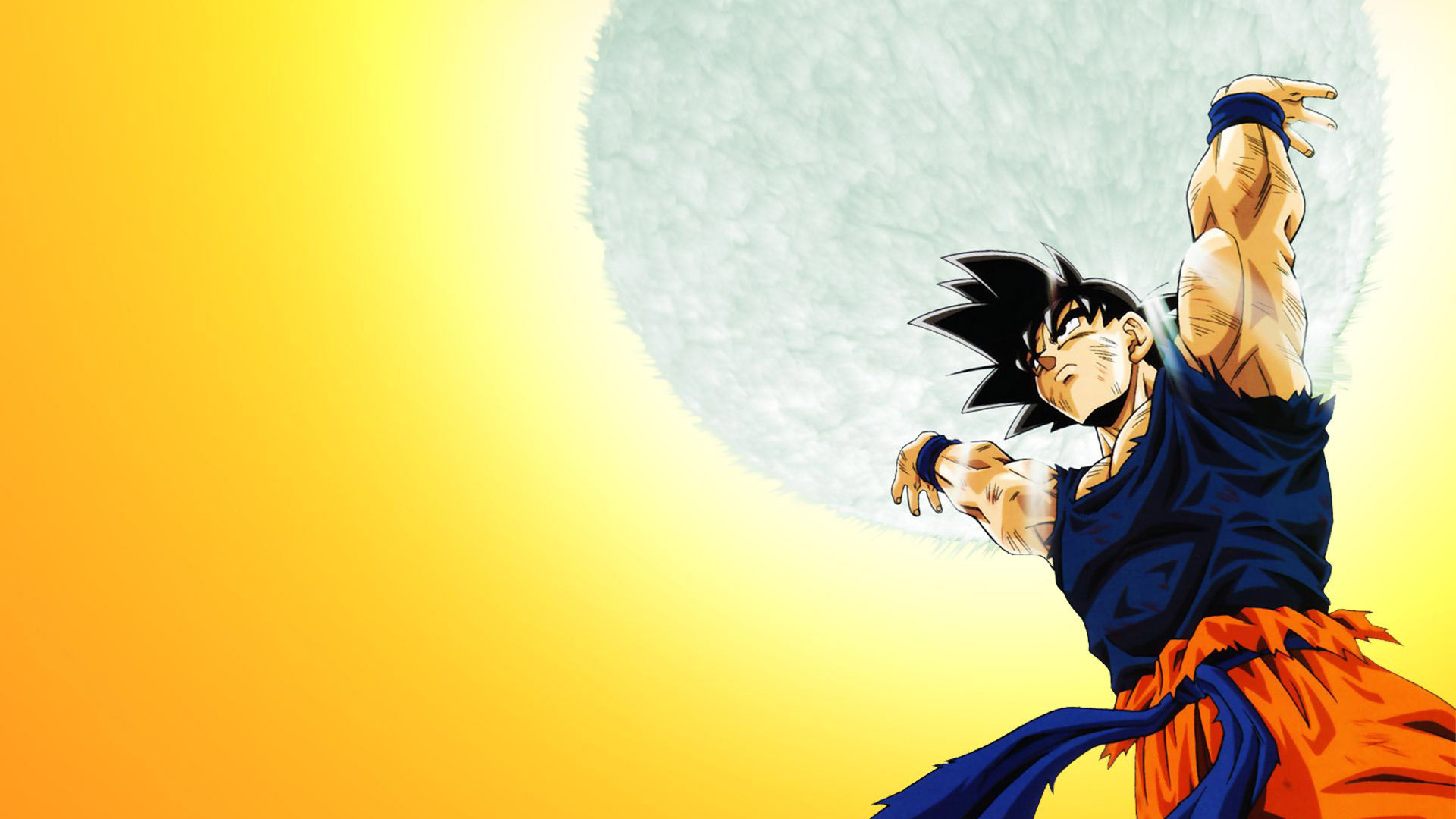 Dragon ball z wallpaper 24 of 49 son goku genki dama - Dragon ball super background music mp3 download ...