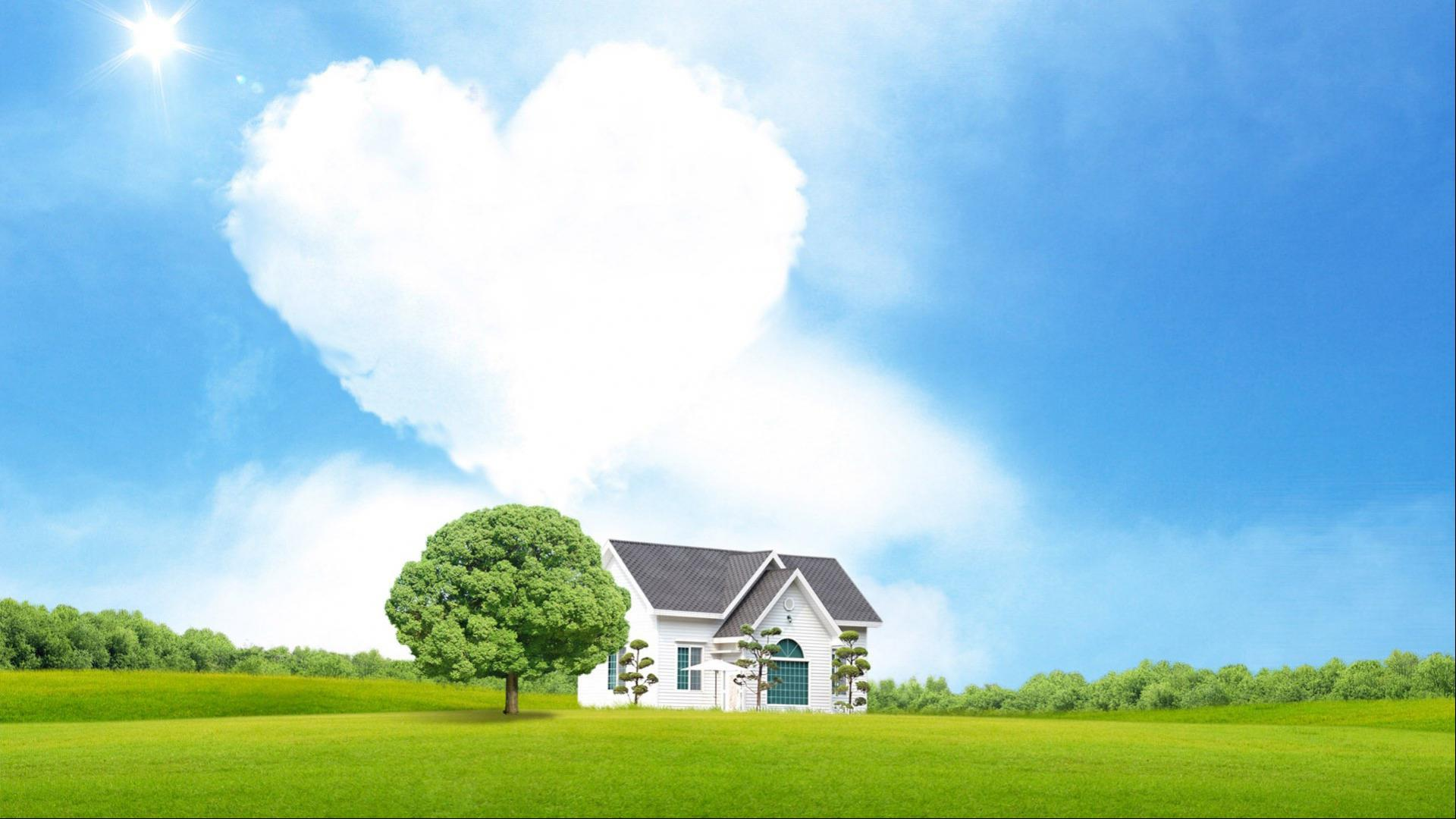 Heart Shaped Cloud 16 Of 57 Love Cloud And House Hd