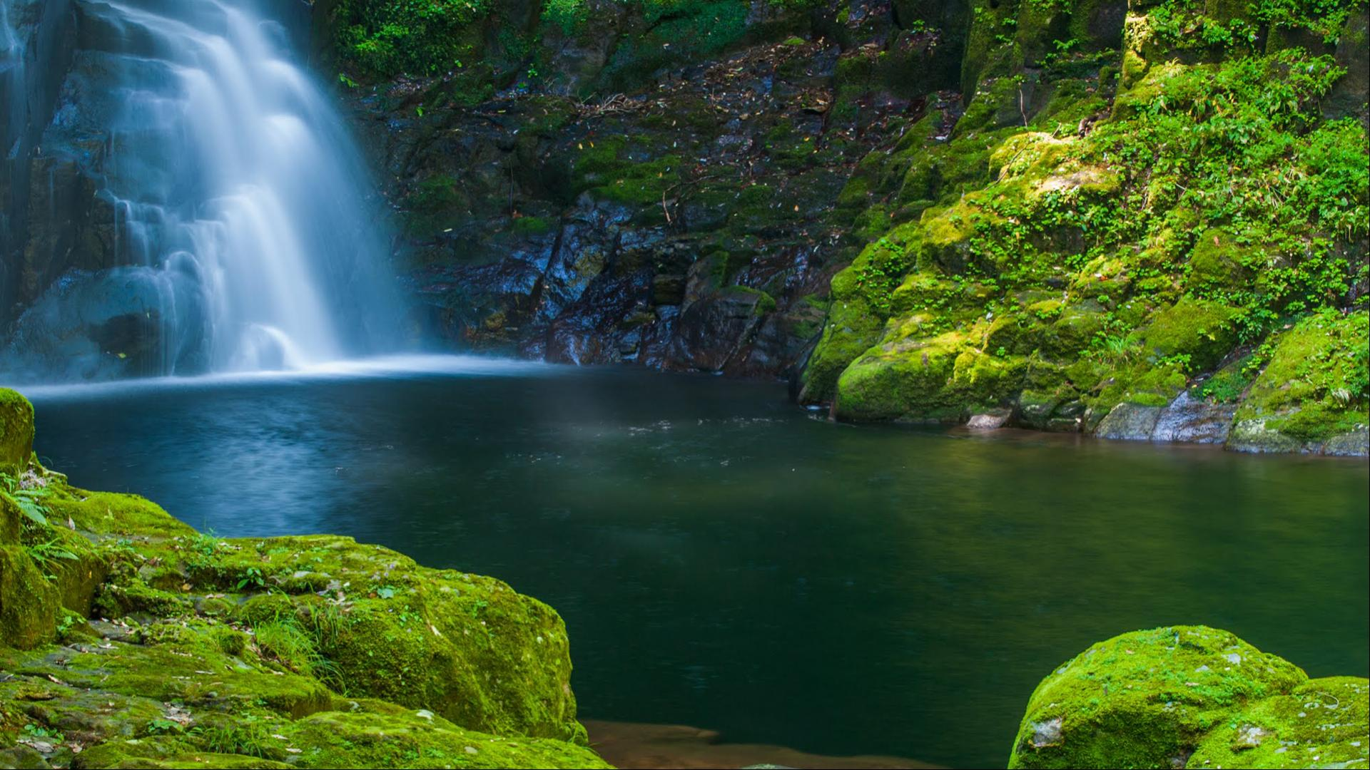 Nature images hd akame shijuhachi waterfall japan hd - Nature japan wallpaper ...