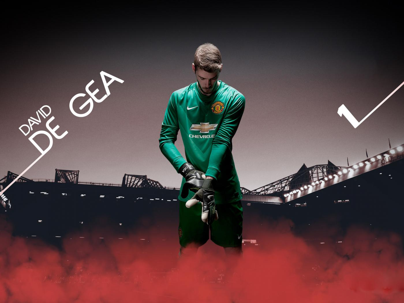 David De Gea Manchester United Goalkeeper Photo For