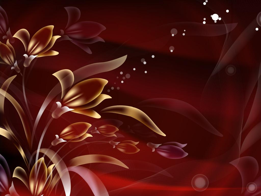 Free Colorful Flower Desktop Wallpaper: Abstract Flower Wallpaper For Photoshop Background