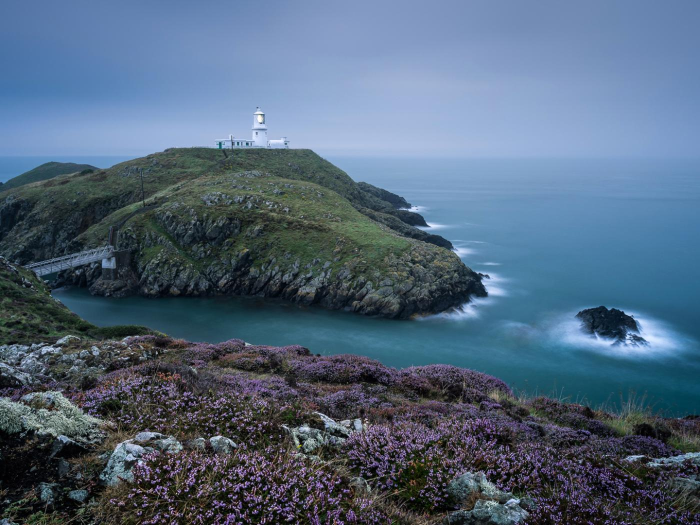 Strumble Head Lighthouse For Hd Wallpaper Hd Wallpapers