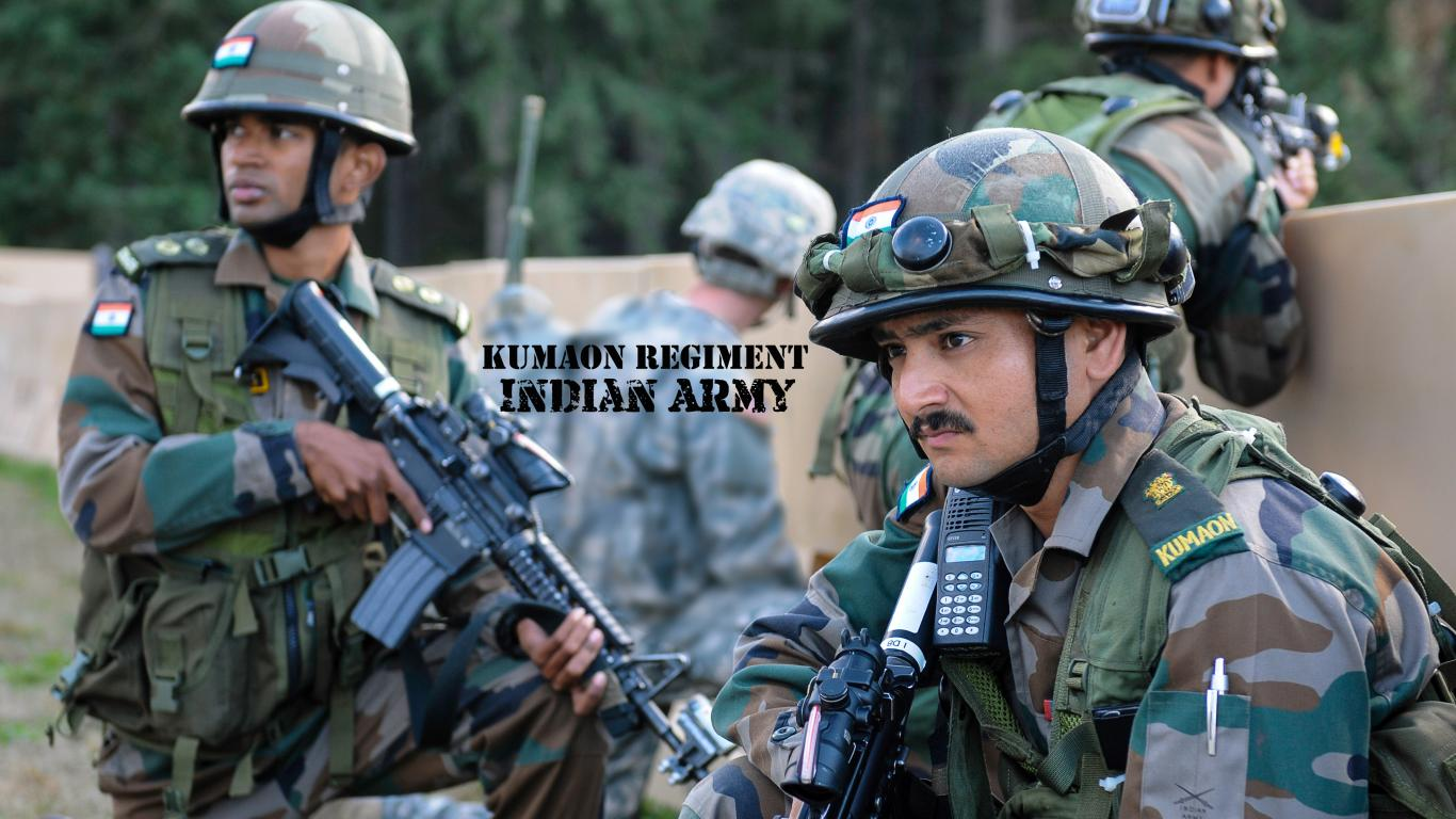 wallpaper of kumaon regiment indian army in training hd