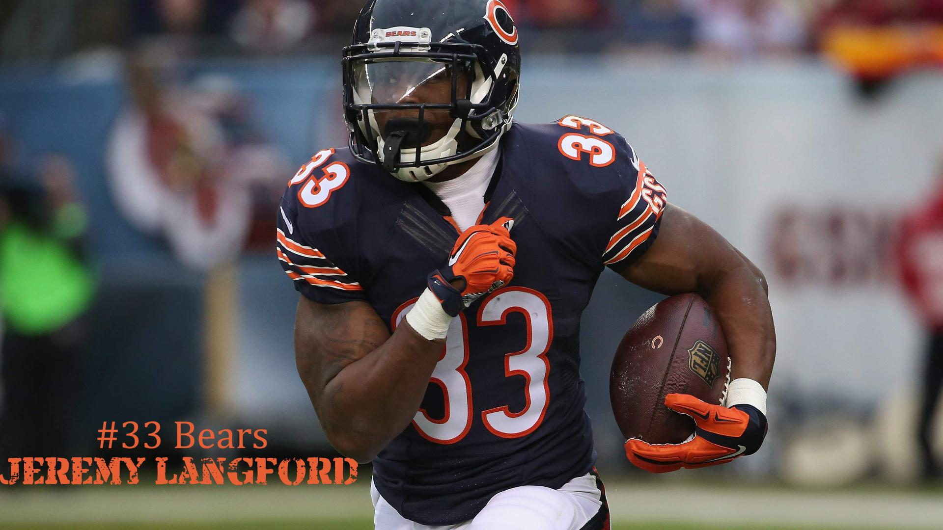 12 Best Chicago Bears Wallpapers 08 Jeremy Langford