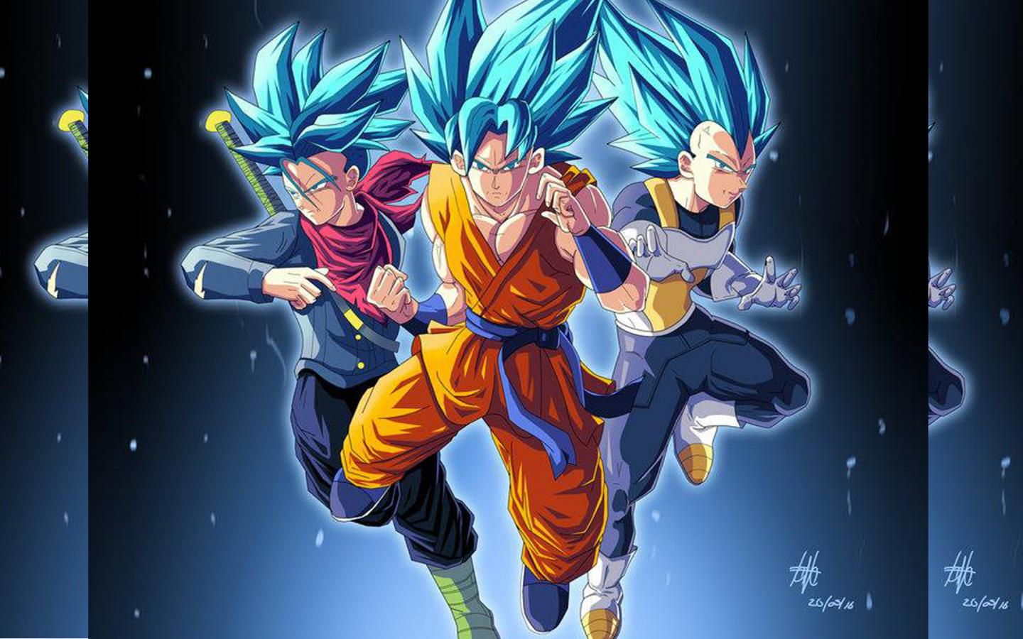 Dragon ball z wallpaper 35 of 49 super saiyan wallpaper trunks goku vegeta hd - Super sayen 10 ...