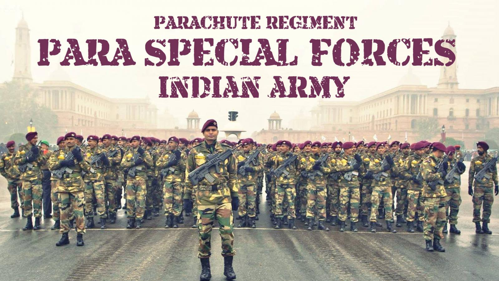 Para Special Forces Indian Army Wallpaper In HD