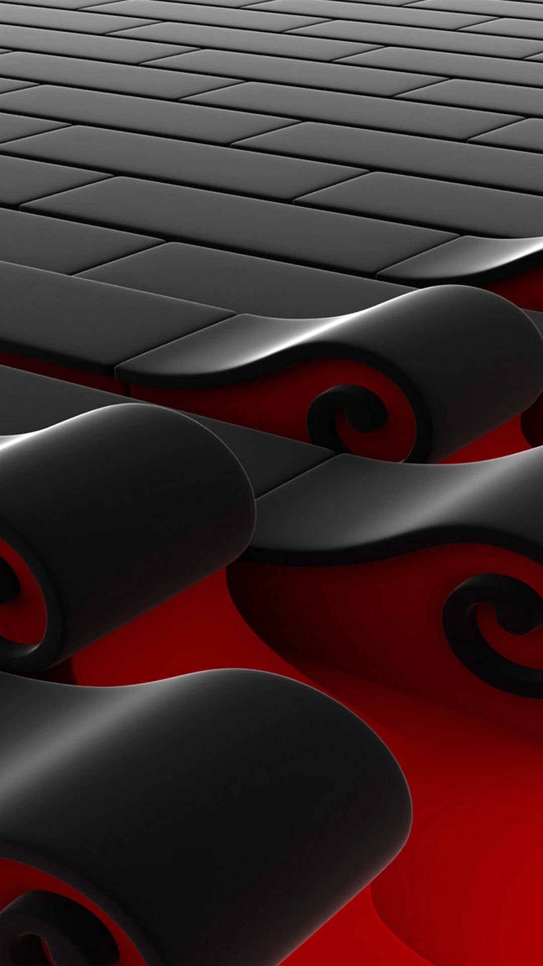 Cool phone wallpapers 08 of 10 for samsung galaxy a8 background with red and black 3d bricks - 3d wallpaper for note 8 ...