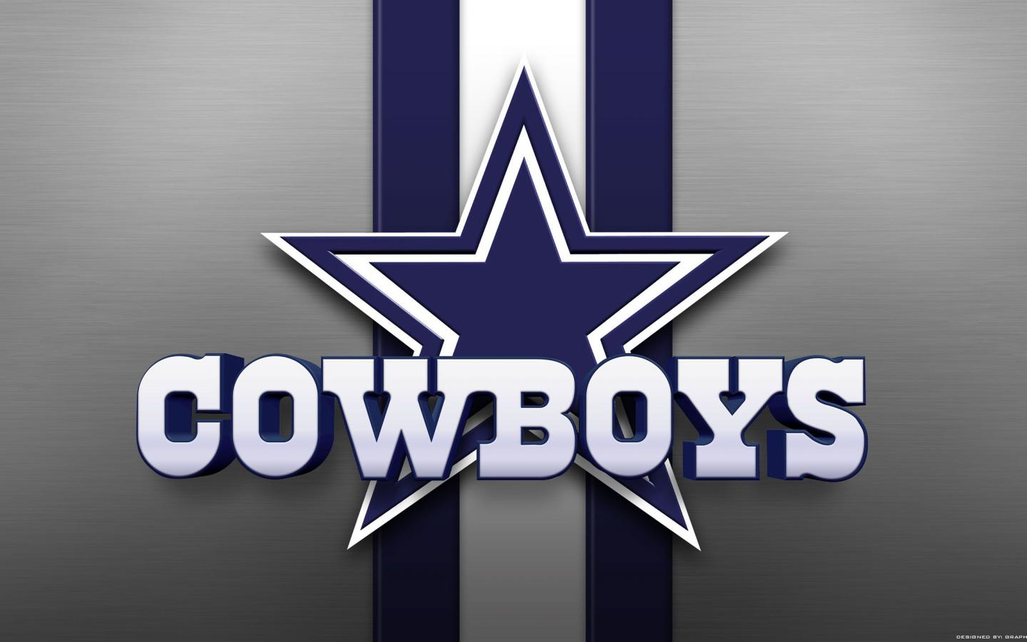 Dallas Cowboys Background With Logo In High Resolution