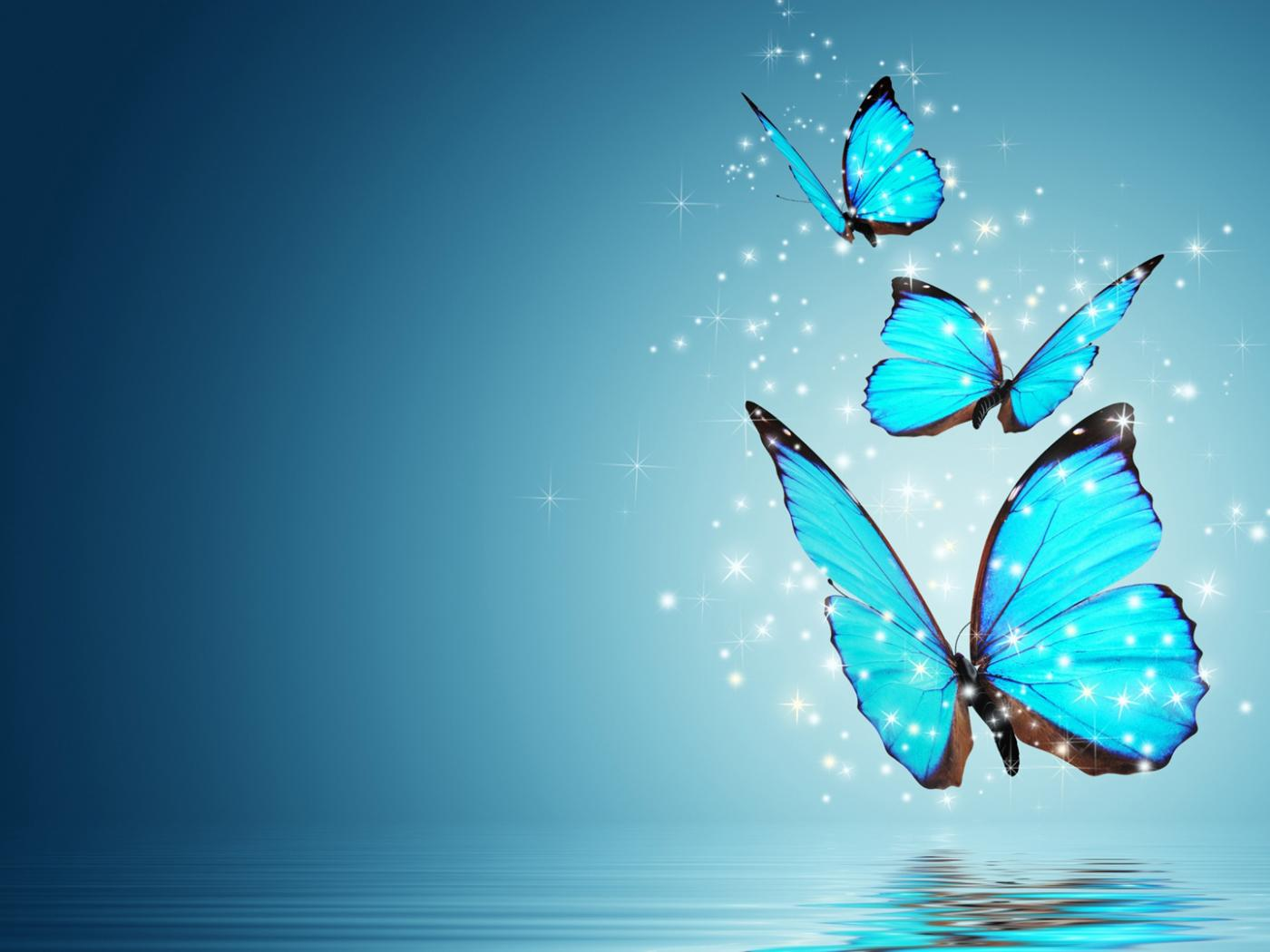 Fantasy Butterfly Wallpaper 02 Of 10 Blue Morpho On Water Hd Wallpapers Wallpapers