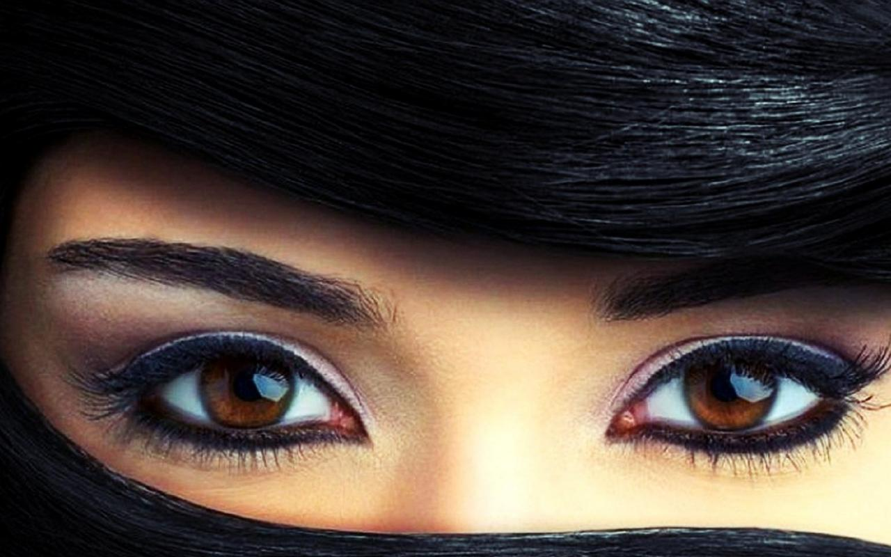 Beautiful Brown Eyes Picture In Close Up | HD Wallpapers For Free