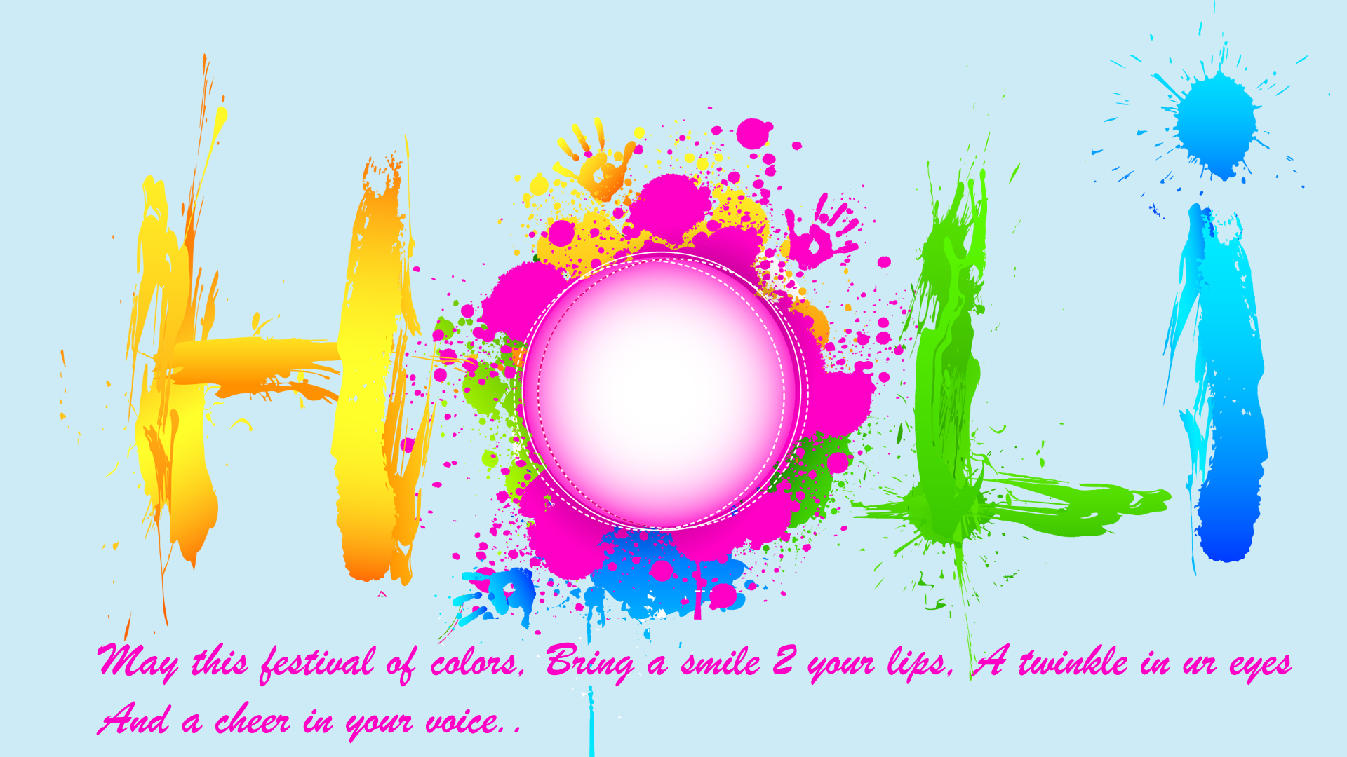 Holi Wishes In English For Wallpaper Hd Wallpapers Wallpapers