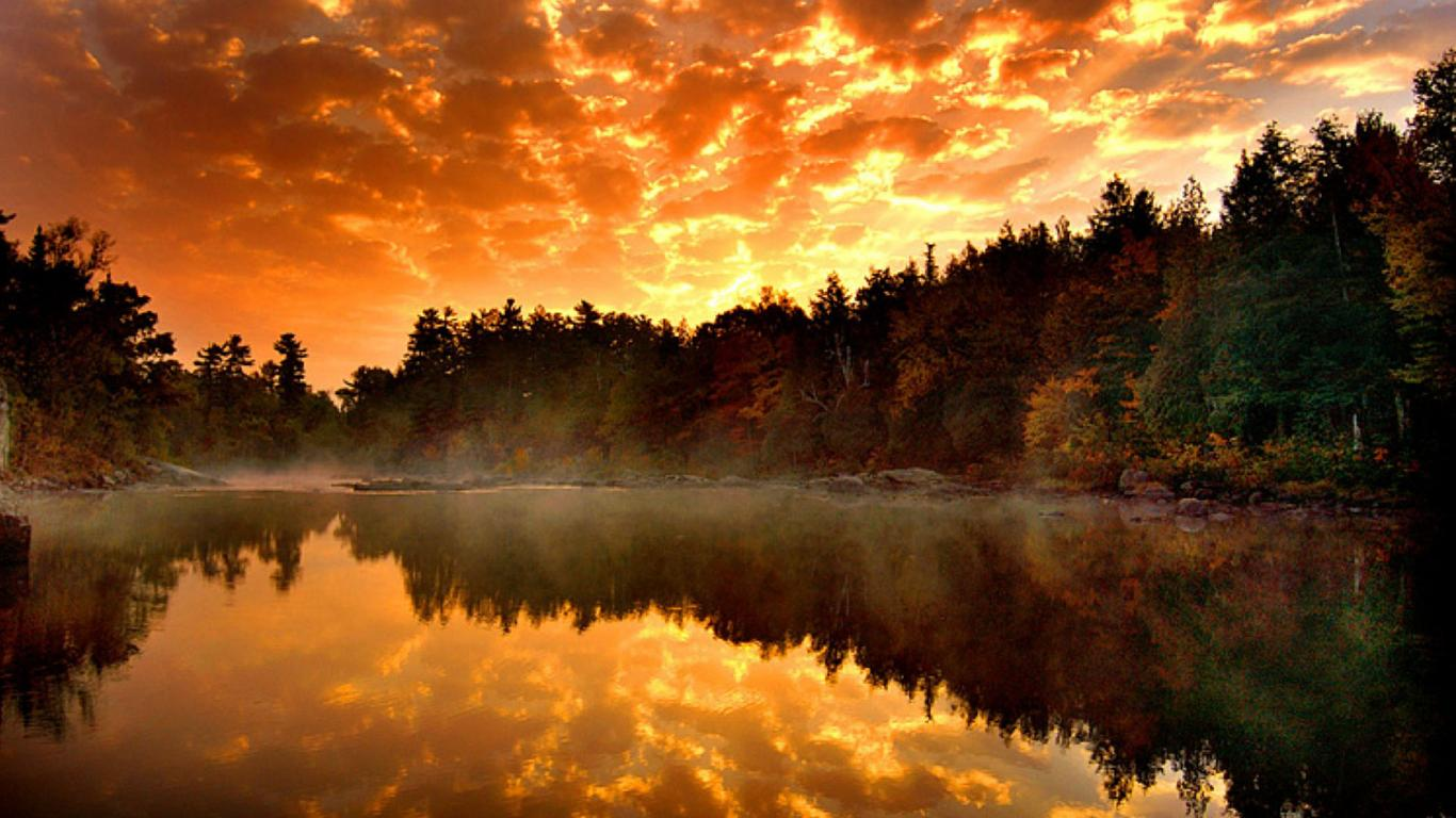 Full HD Nature Wallpaper 1080p For Desktop With River And