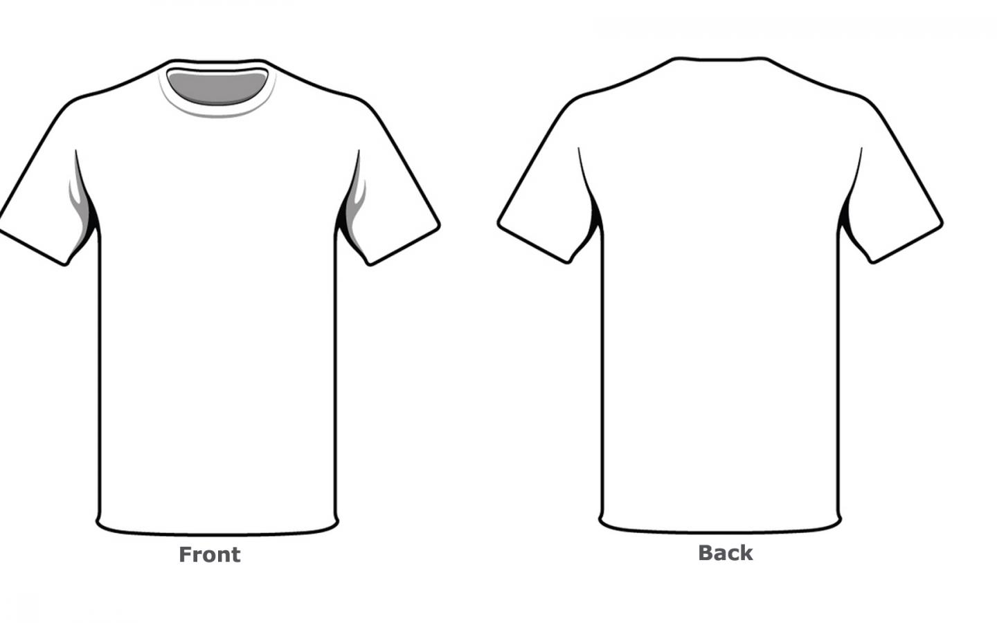 Blank Tshirt Template Front Back Side In High Resolution Hd Wallpapers Wallpapers Download