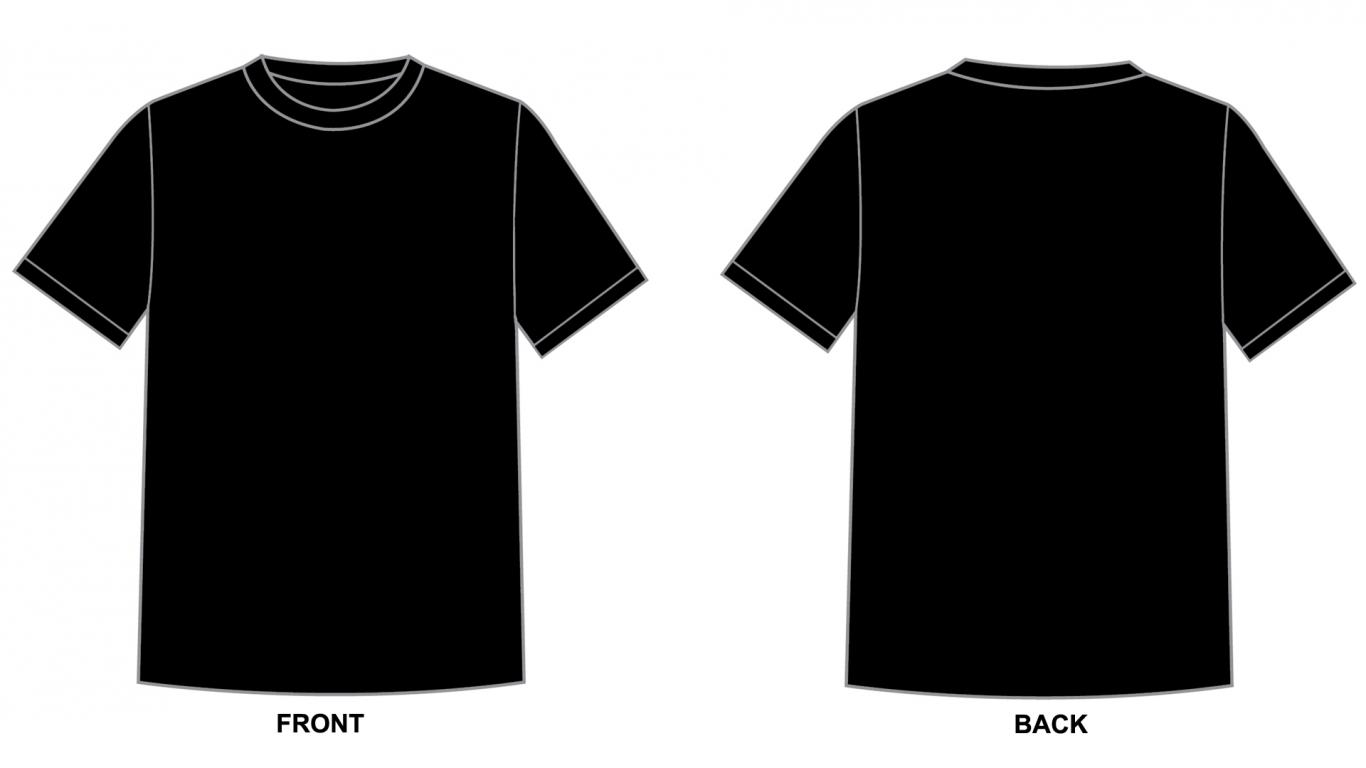 Blank Tshirt Template Black in 1080p | HD Wallpapers for Free