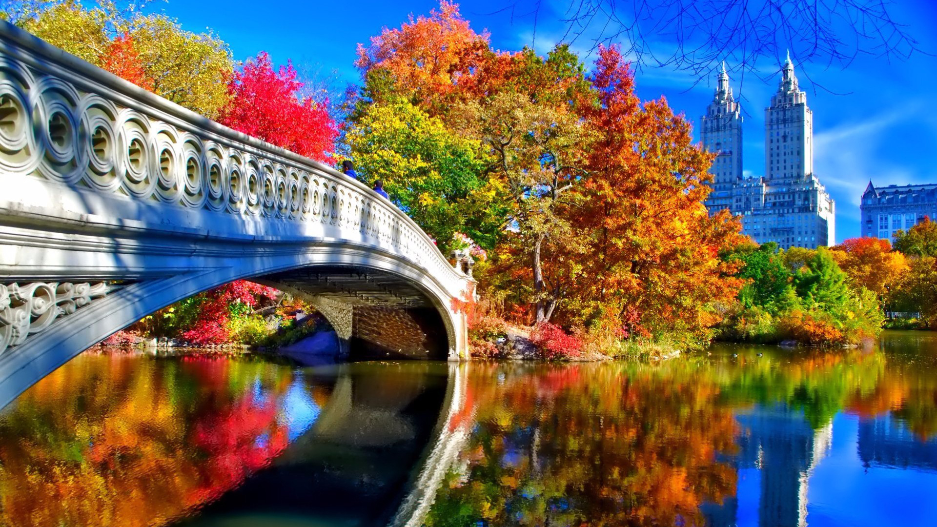 autumn in new york desktop wallpaper in 1920×1080 | hd wallpapers