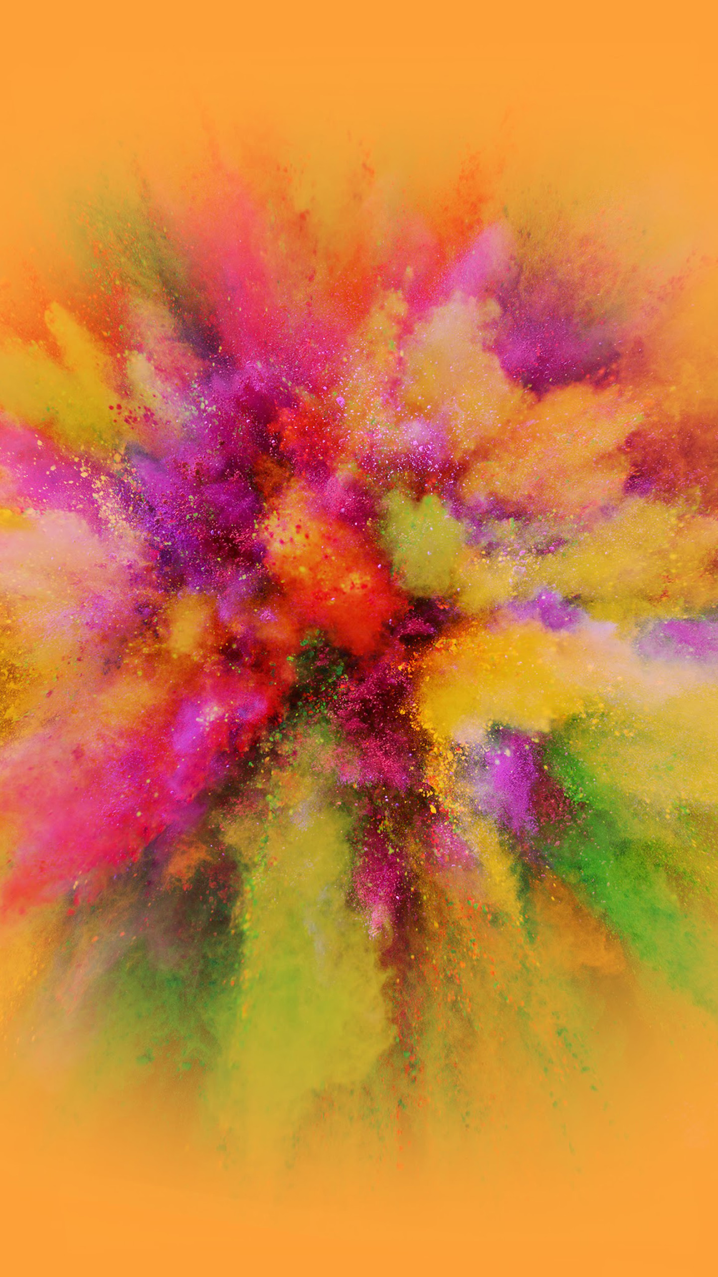 LG V20 Wallpaper With Indian Holi Photo