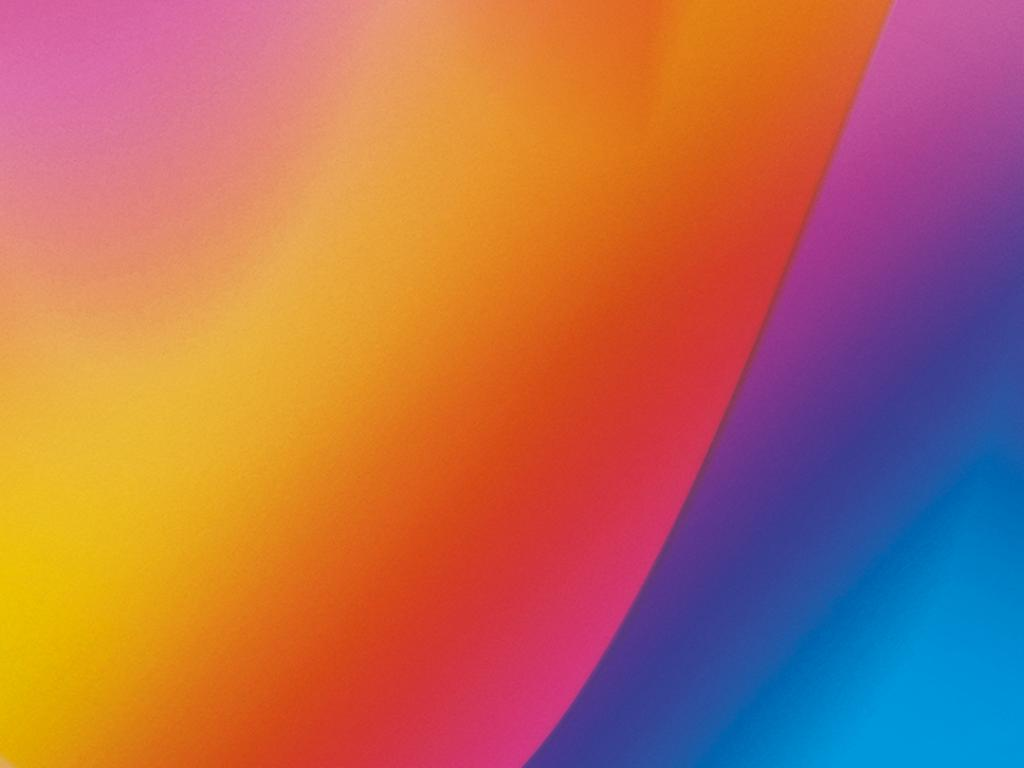 Lenovo K6 Note Wallpaper With Abstract Color Lights