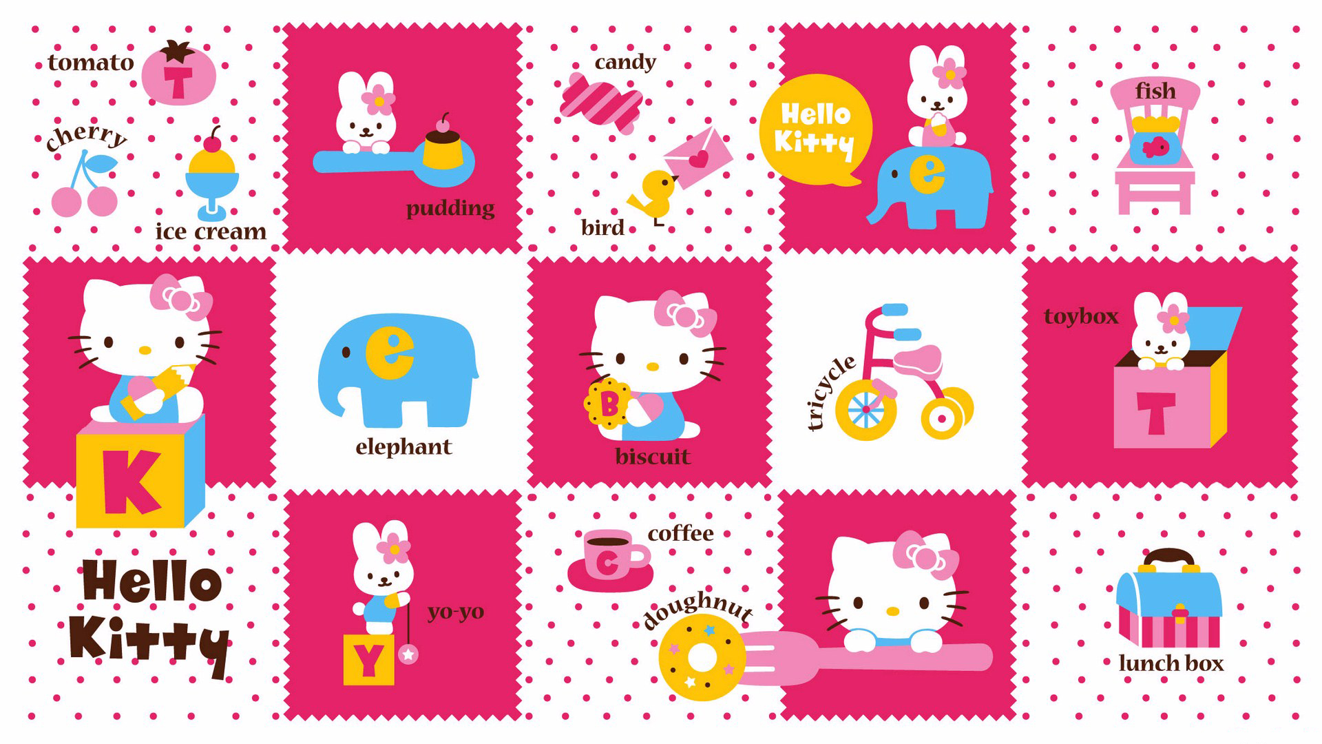 Great Wallpaper Hello Kitty Floral - Hello_Kitty_Background_for_Desktop_Wallpaper  Perfect Image Reference_358183.jpg