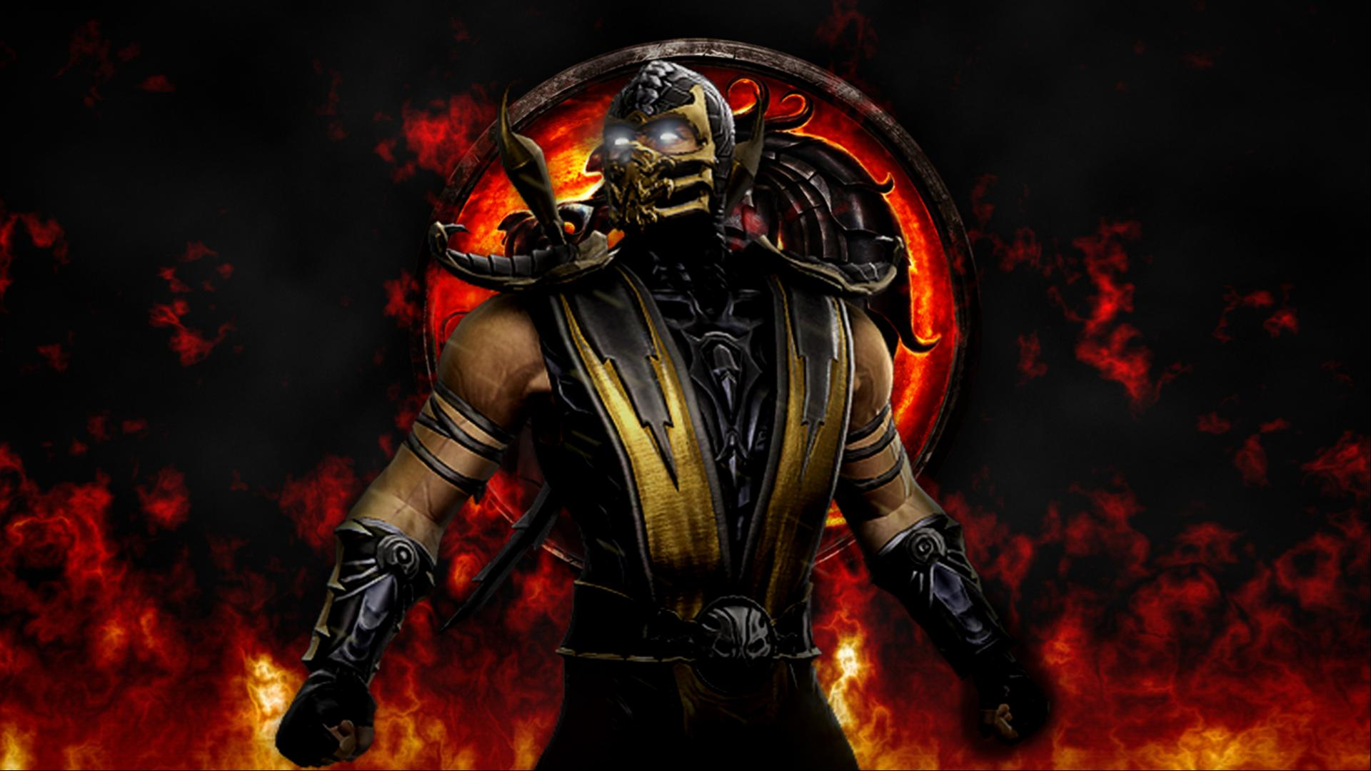 Images Of Scorpion From Mortal Kombat For Wallpaper: Images Of Scorpion From Mortal Kombat For Wallpaper