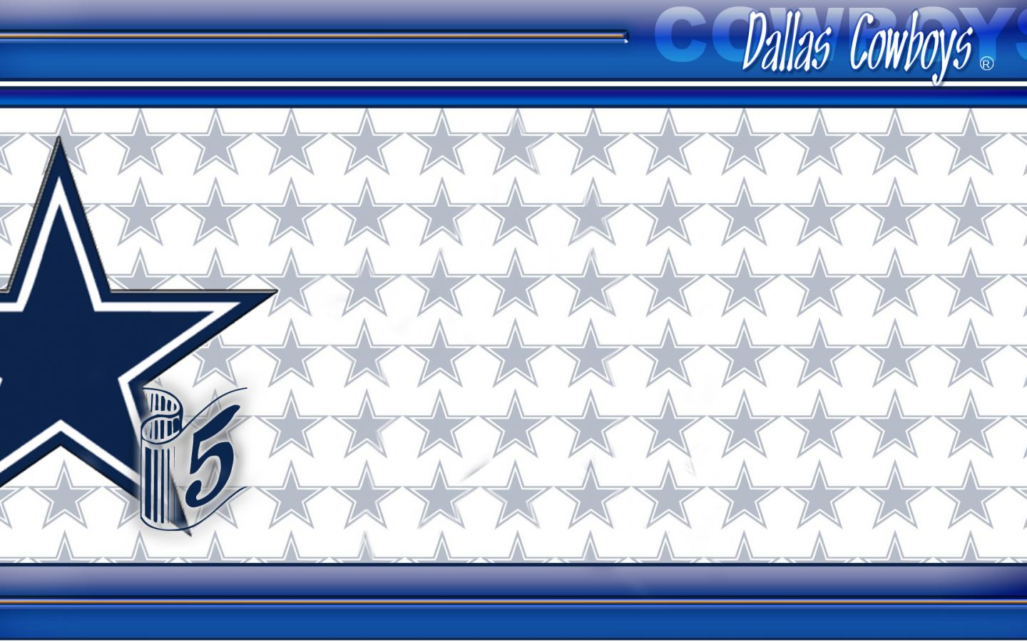 dallas cowboys wallpaper border 02 of 10 with stars as