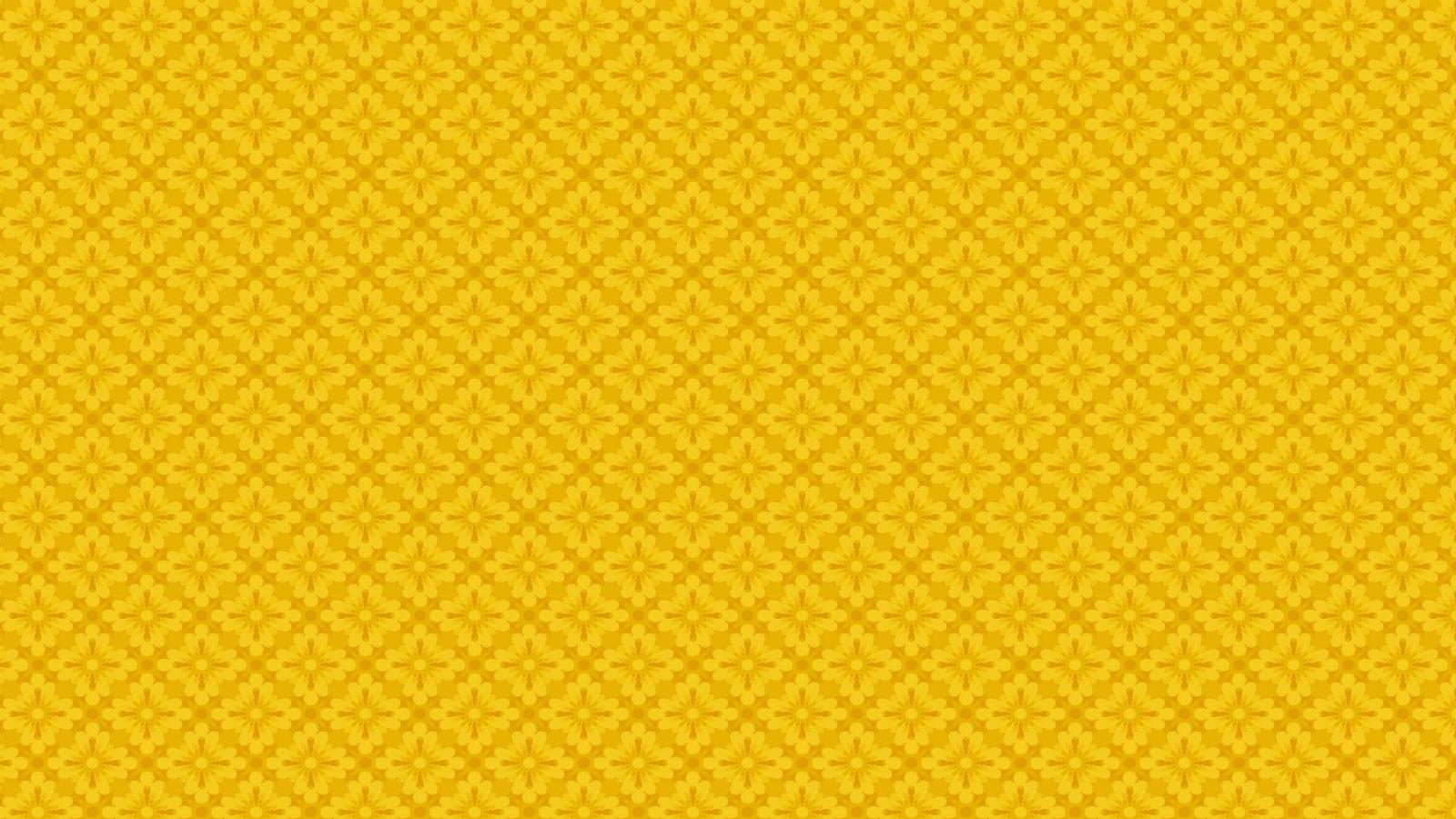 yellow floral pattern - photo #42