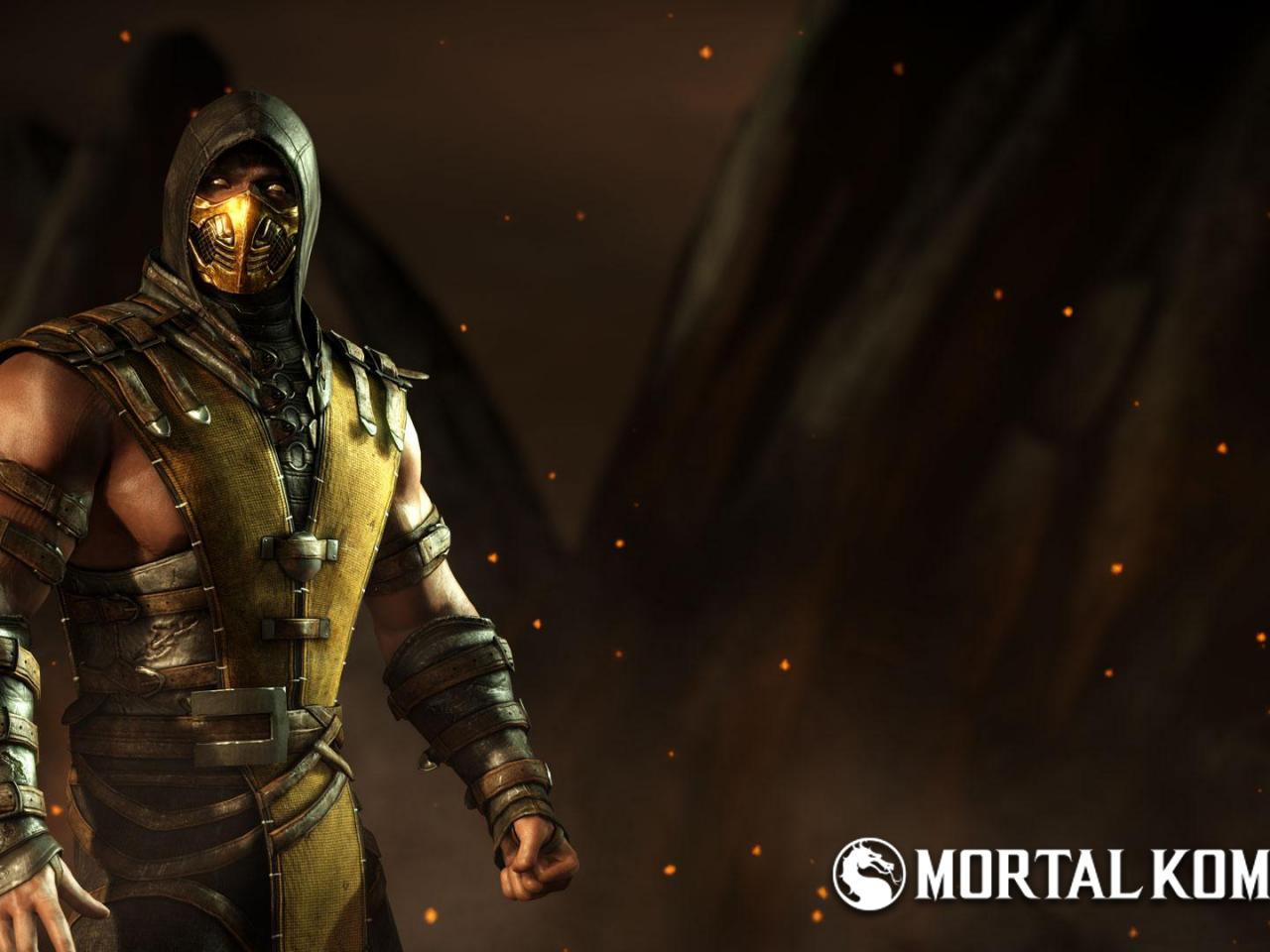 Images Of Scorpion From Mortal Kombat For Wallpaper: Pictures Of Scorpion From Mortal Kombat As Playstation 4