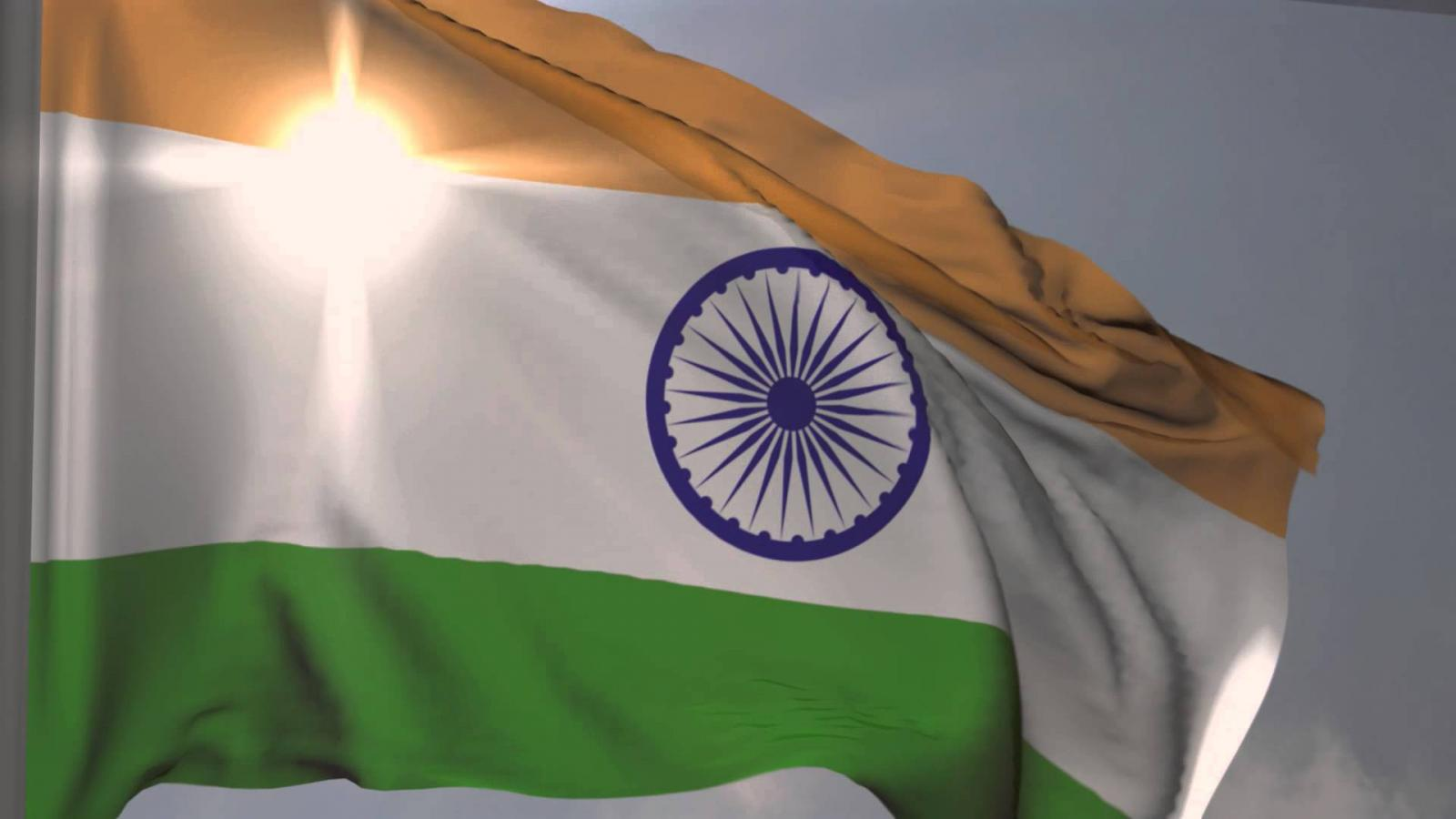 For Indian Flag Hd Animation: Indian Flag Wallpaper HD With Fluttering Tiranga For