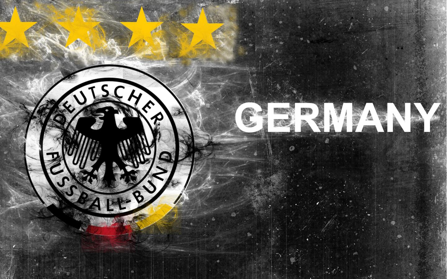 The Germany National Football Team Logo With Abstract Background  HD