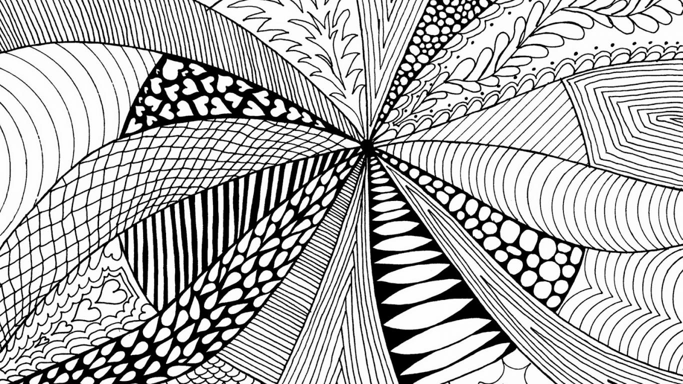 Simple Line Art Background : Examples of abstract art drawings in simple design hd