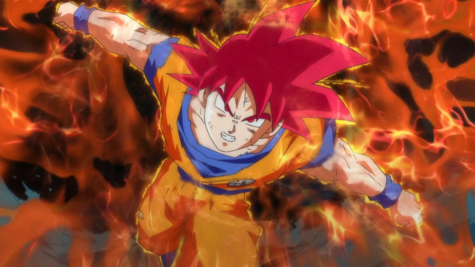 Son goku super saiyan god dragon ball z battle of gods - Dragon ball super background music mp3 download ...