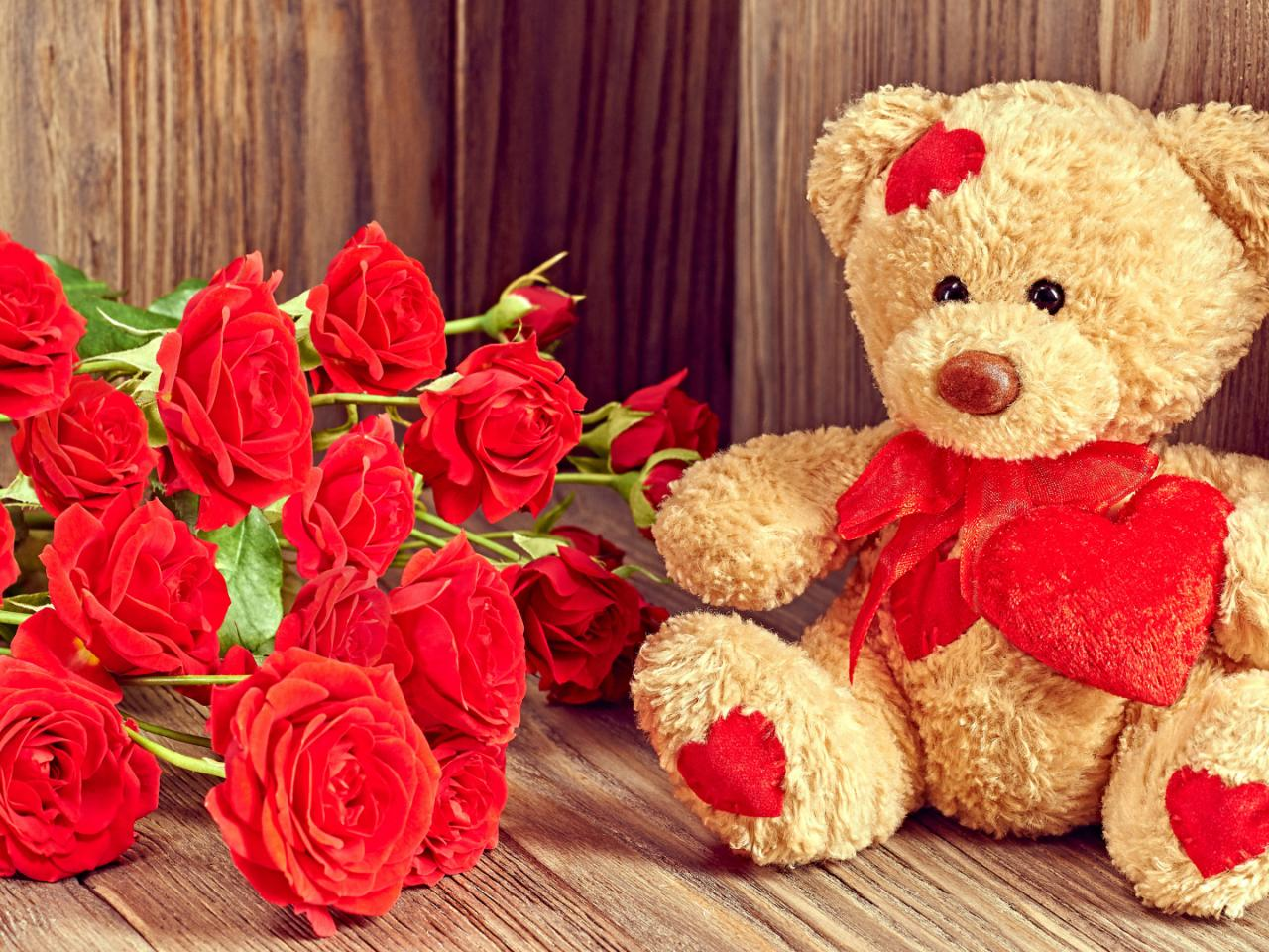 Cute and romantic wallpaper with teddy bear images - Cute teddy bear pics hd download ...