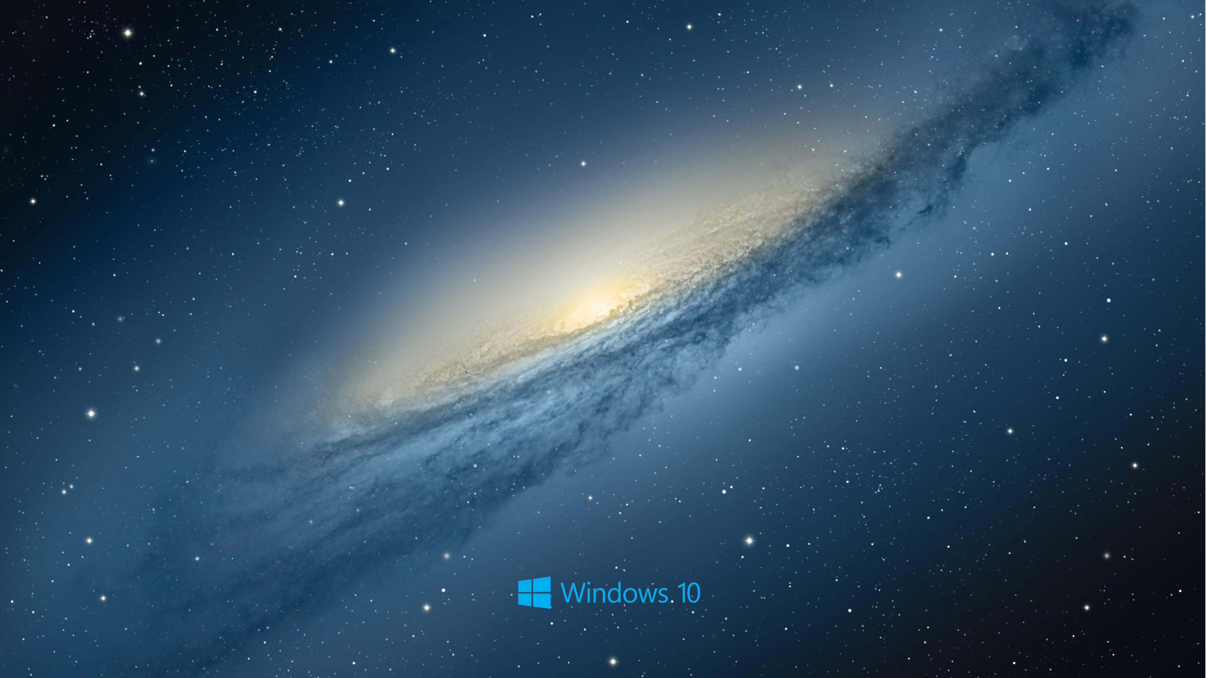 windows 10 desktop wallpaper with scientific space planet galaxy