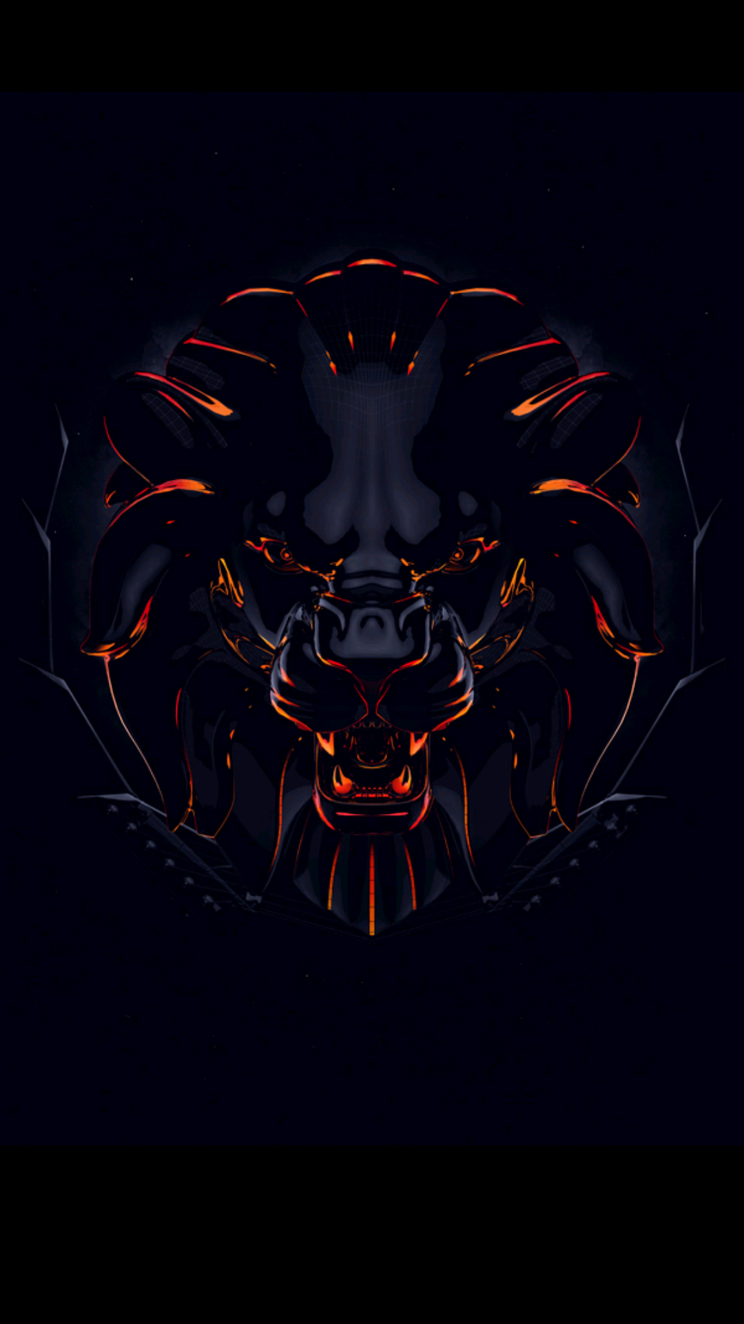 Badass wallpapers for android 17 0f 40 animated lion - Badass screensavers ...