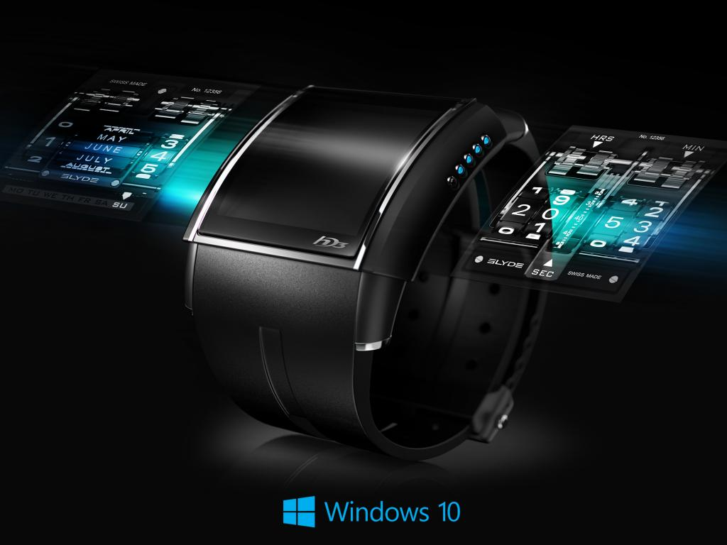 Windows 10 Wallpaper Clock With Digital Watch Hd