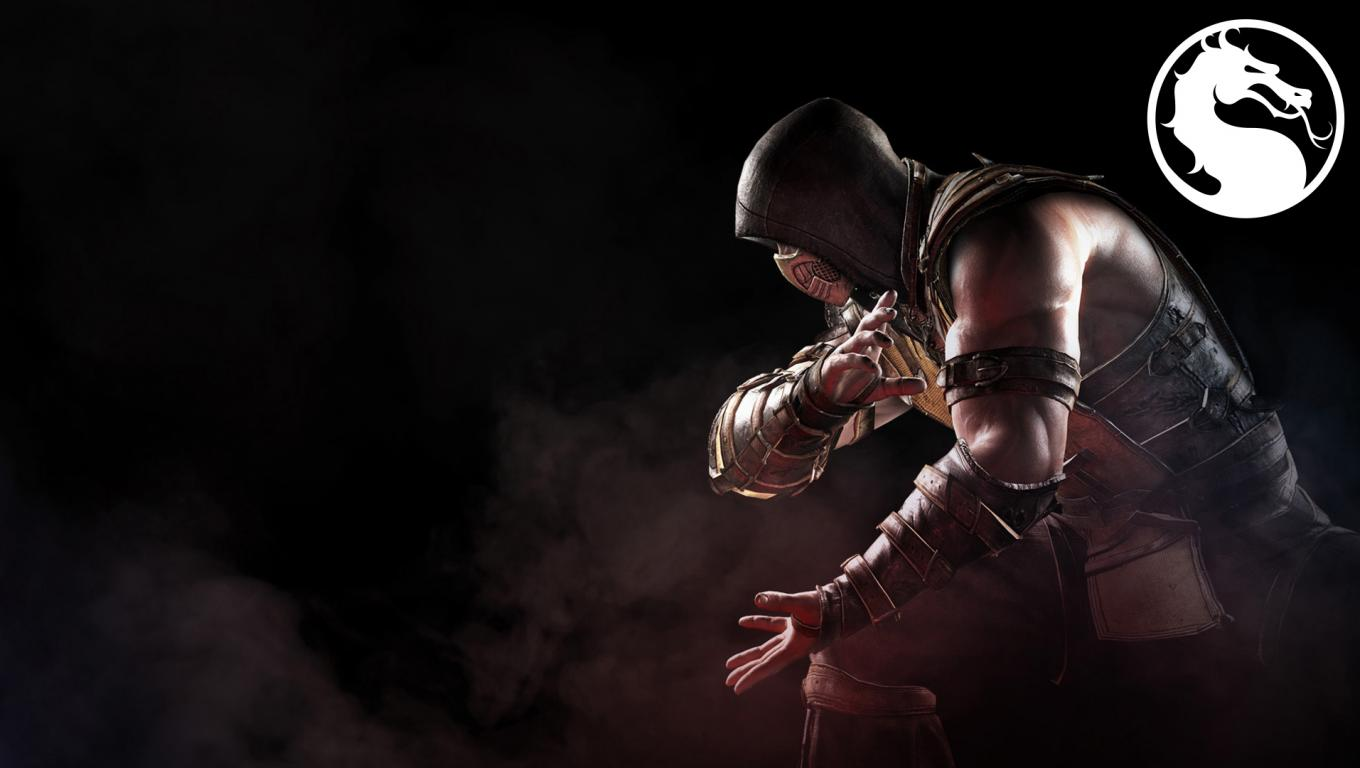 Best Images Of Scorpion From Mortal Kombat With Logo