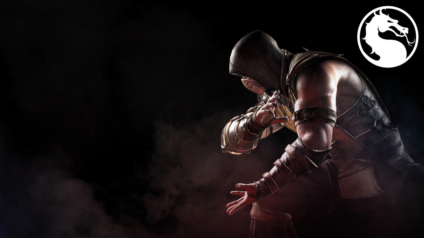Images Of Scorpion From Mortal Kombat For Wallpaper: Best Images Of Scorpion From Mortal Kombat With Logo
