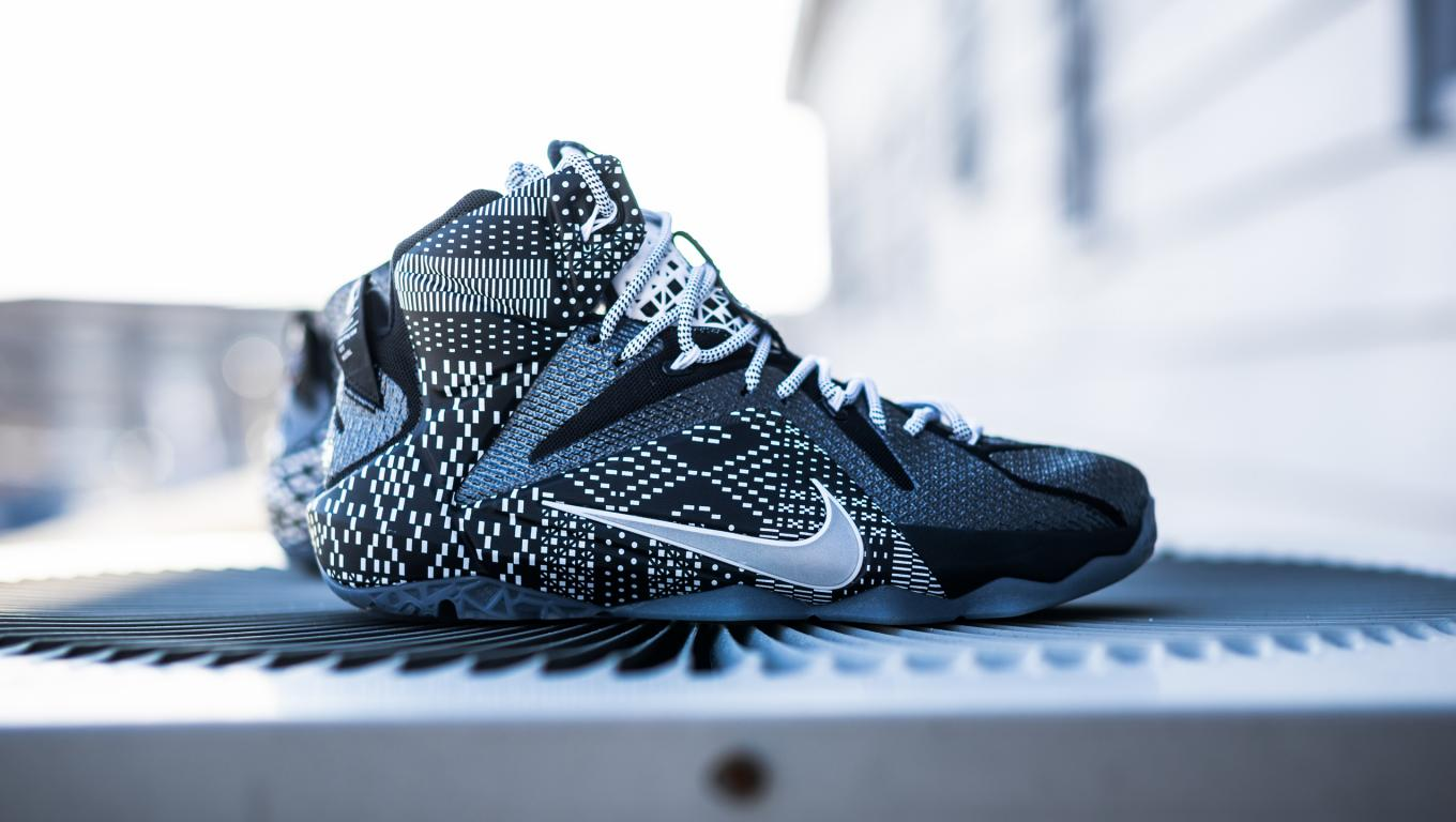 lebron james shoes wallpaper with nike lebron 12 bhm