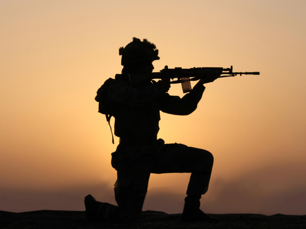 Indian Army Wallpaper With Soldier In Silhouette Hd Wallpapers Wallpapers Download High Resolution Wallpapers