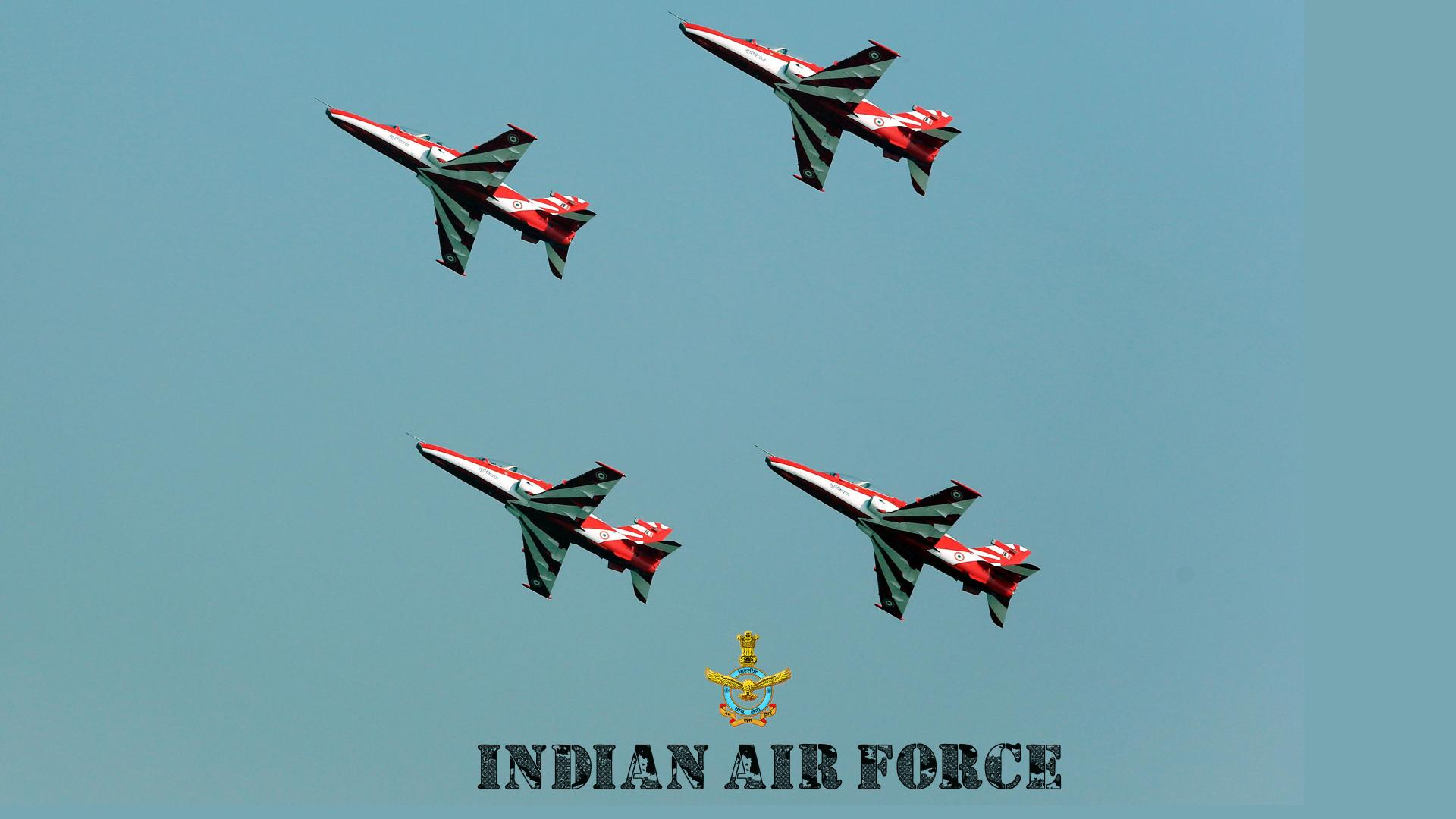 Indian Air Force Wallpaper With Advanced Jet Trainer