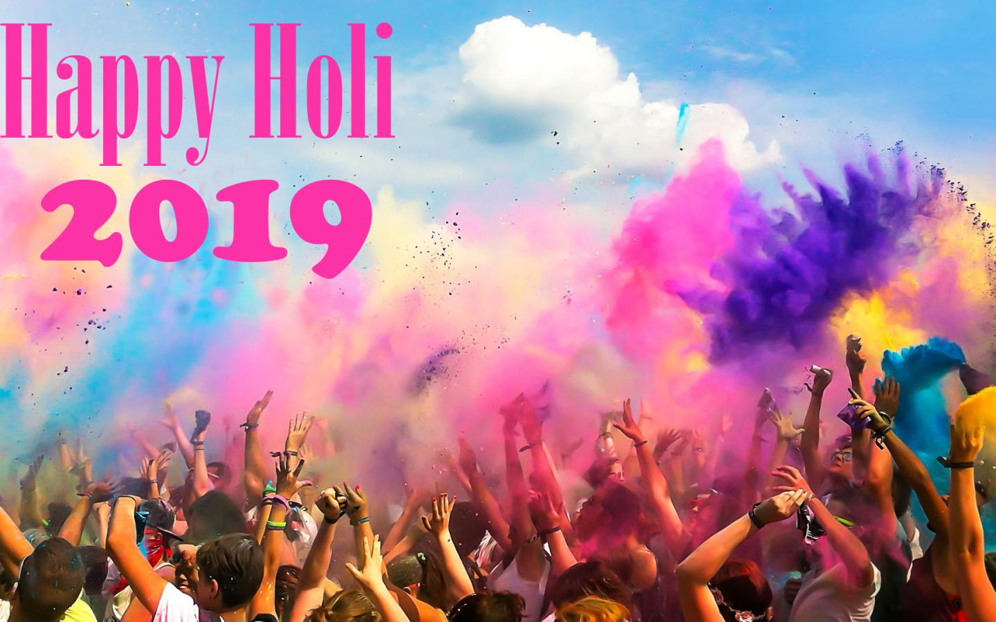 2018 Holi HD Images For Wallpaper