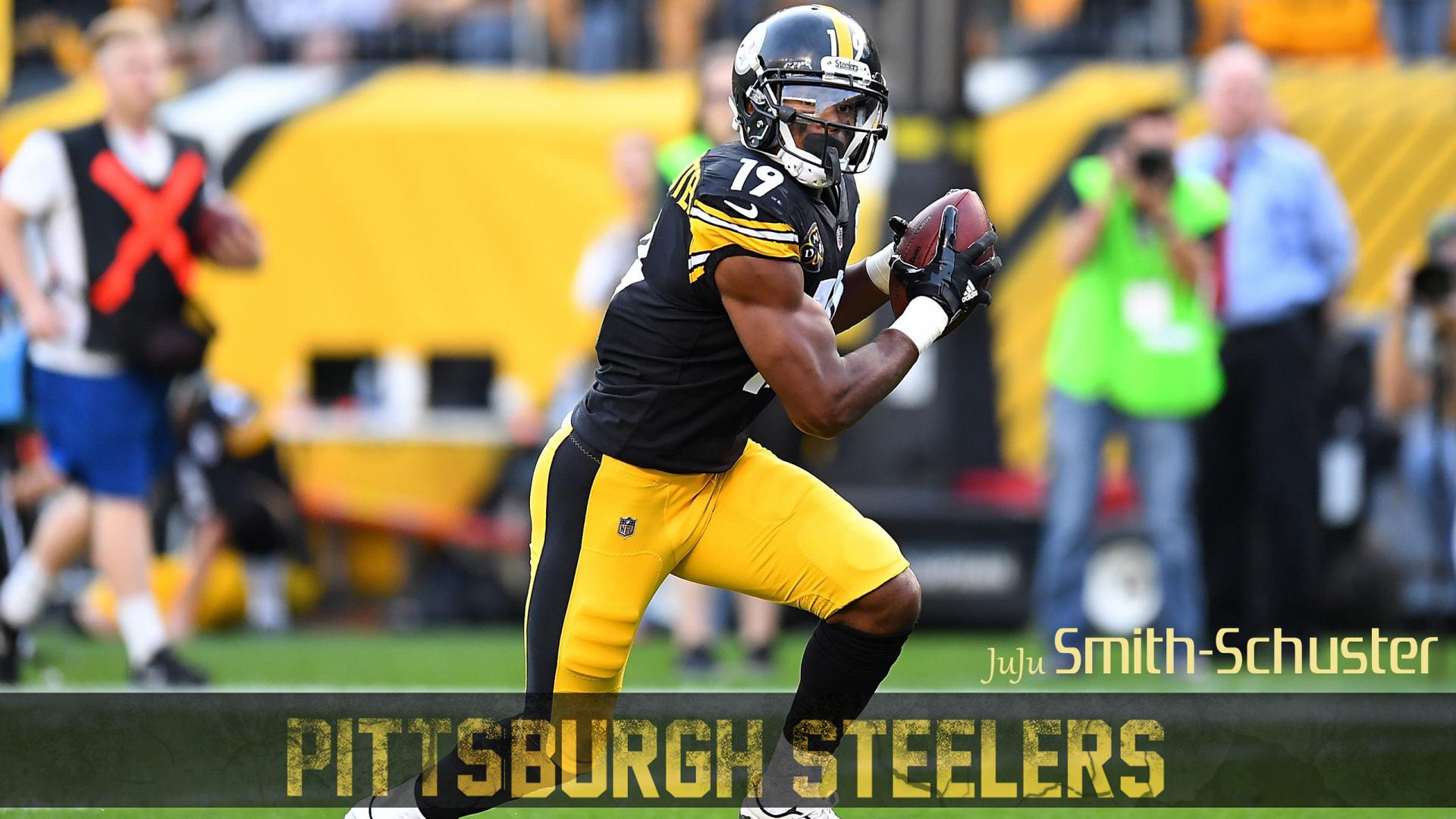 pittsburgh steelers player wallpaper juju smith schuster steeler logos over time steelers logo clip art