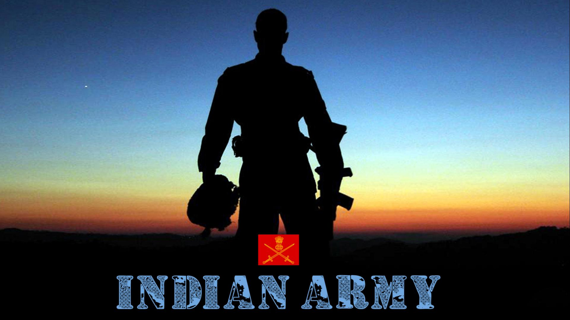 Indian Army Hd Wallpapers 1080p Download With Picture Of Soldier