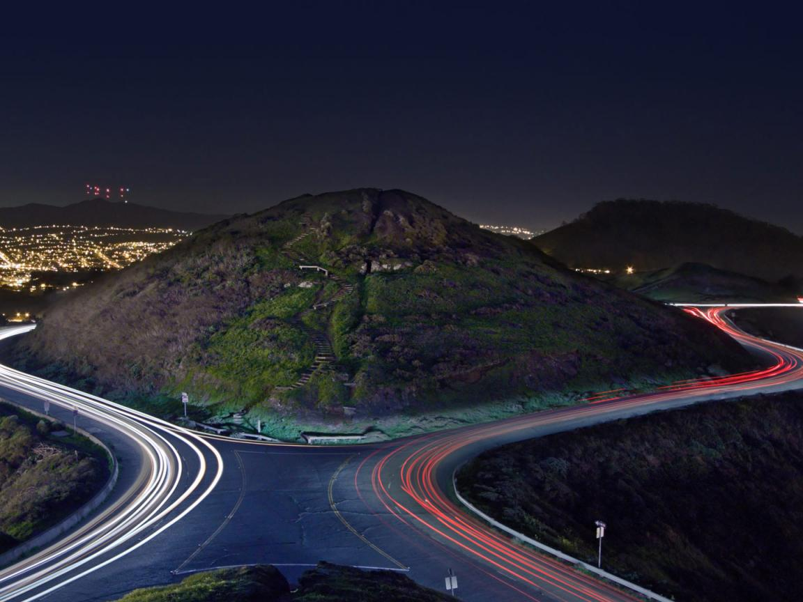 Natural images hd 1080p download with christmas tree point road and the hills of twin peaks hd - Hd images download ...
