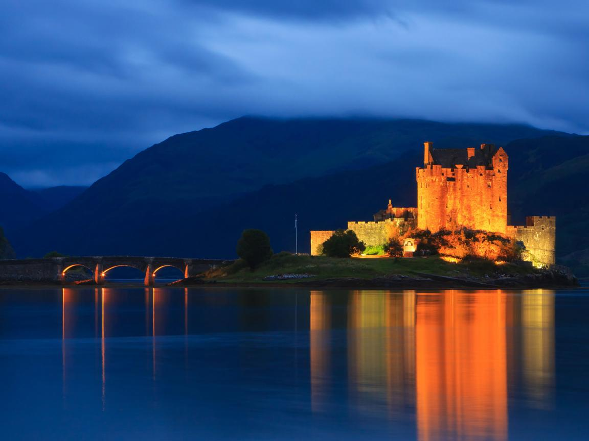Pics Download Hd Images 1080p: Natural Images HD 1080p Download With Eilean Donan Castle