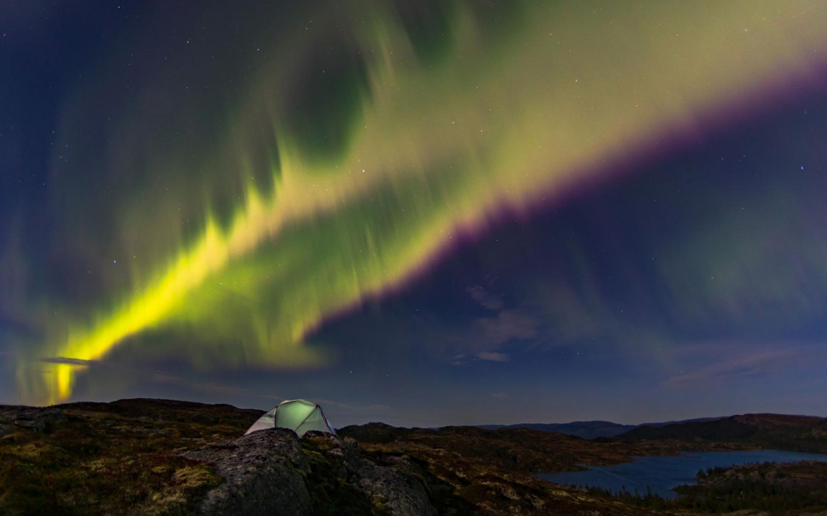 Natural Images Hd 1080p Download With Aurora Borealis Over