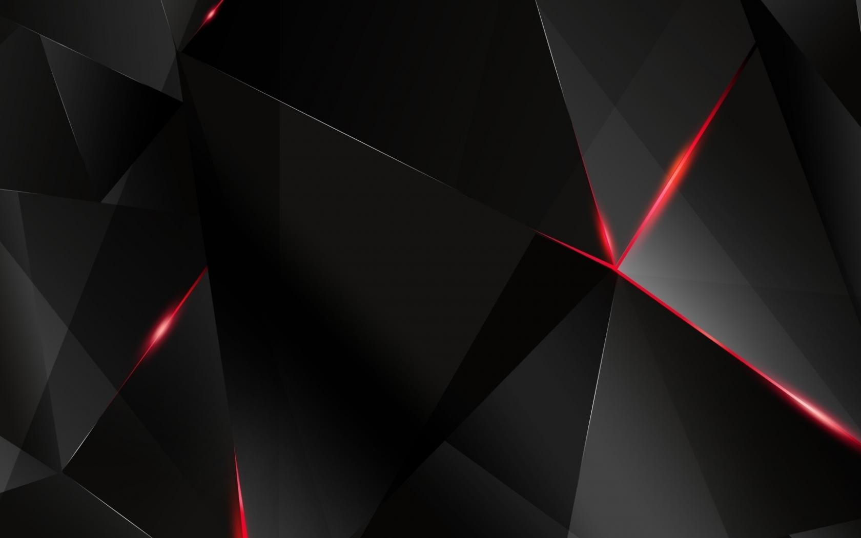 4k Black Wallpapers For Windows 10 02 Of 10 Black And Red 3d Polygons Hd Wallpapers Wallpapers Download High Resolution Wallpapers