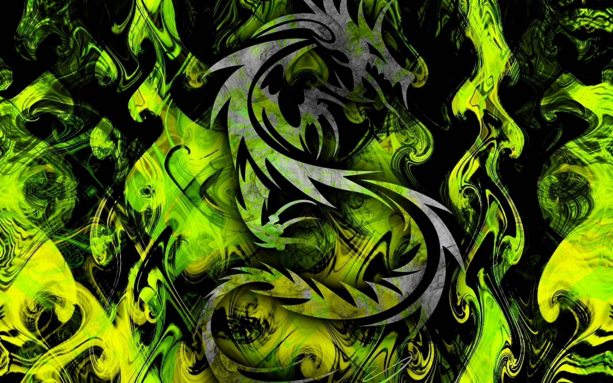 green tribal wallpapers - photo #25