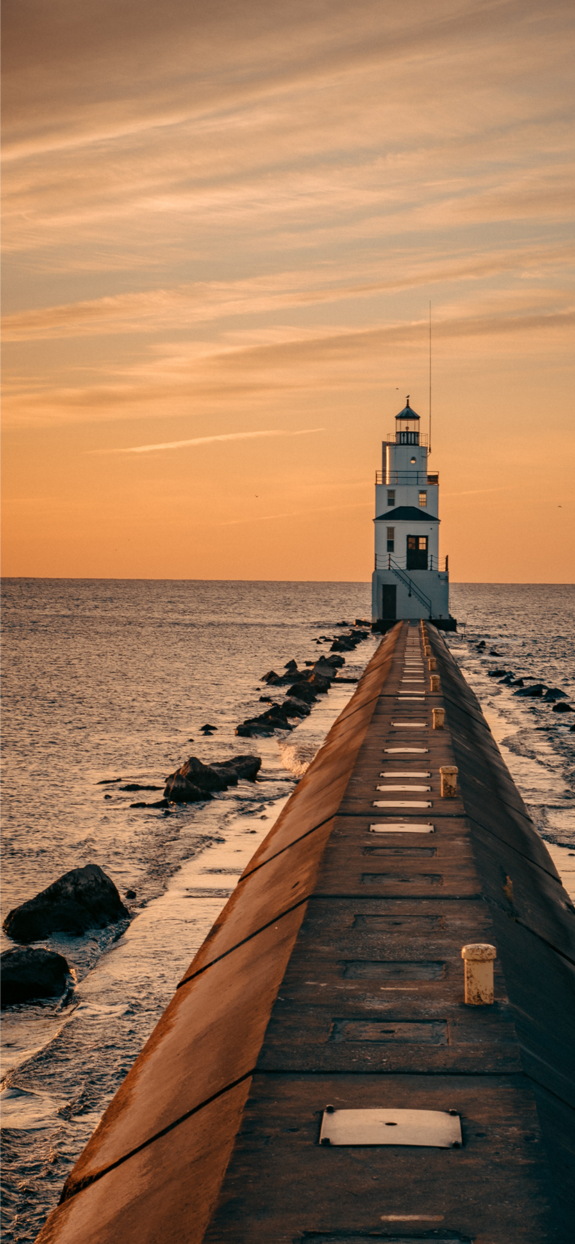 Beach Wallpaper For Iphone 05 Lighthouse During Sunset Hd Wallpapers Wallpapers Download High Resolution Wallpapers