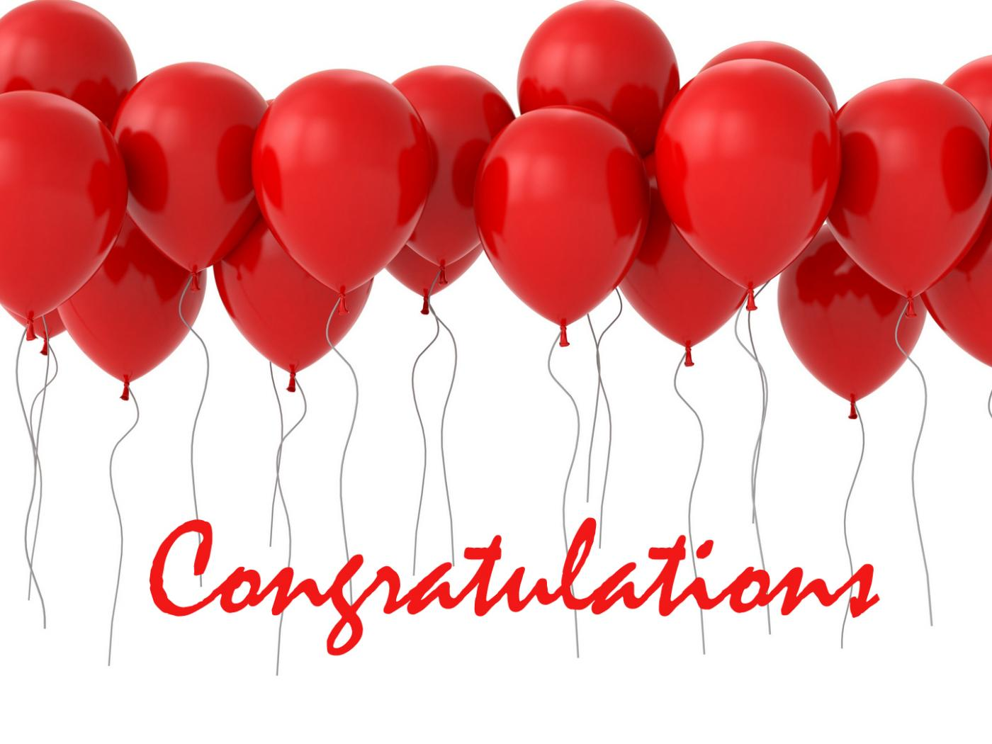 congratulation images free with balloons