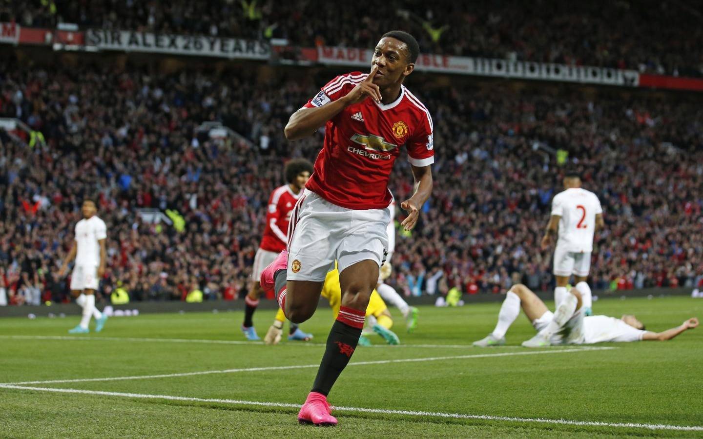 Anthony Martial Manchester United New Player For 2015-2016